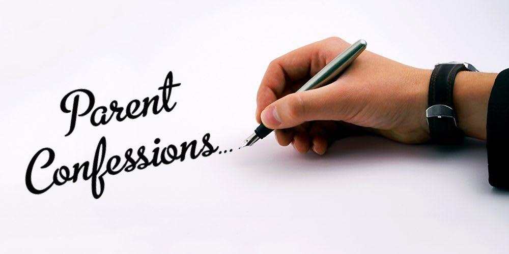 parent confessions banner