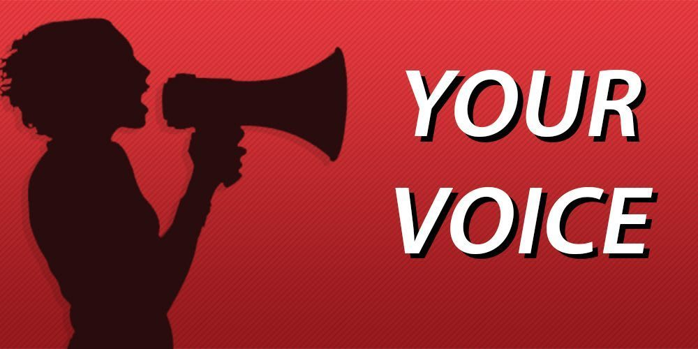 your voice banner