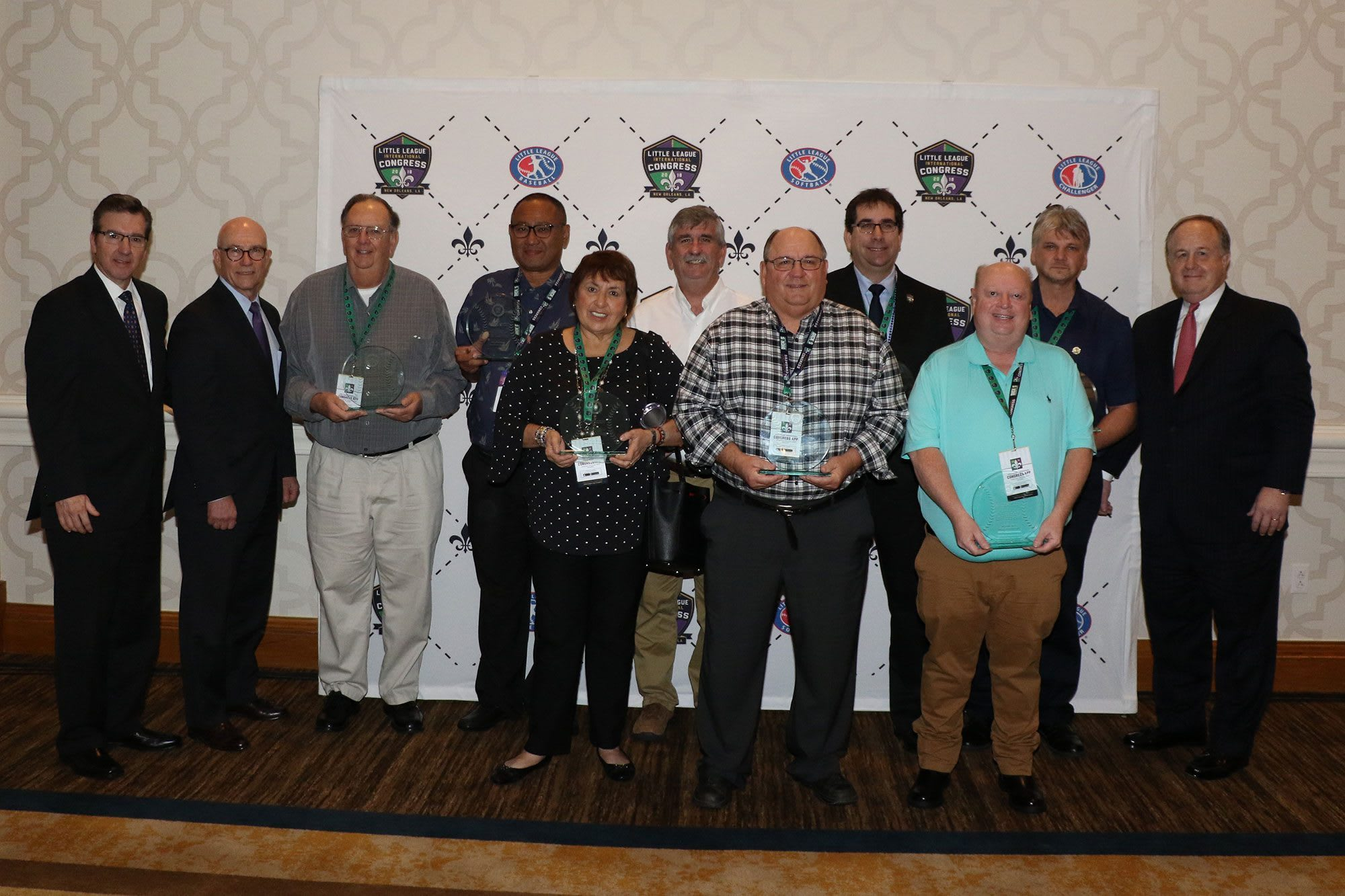 2018 D.A. Award Winners Congress
