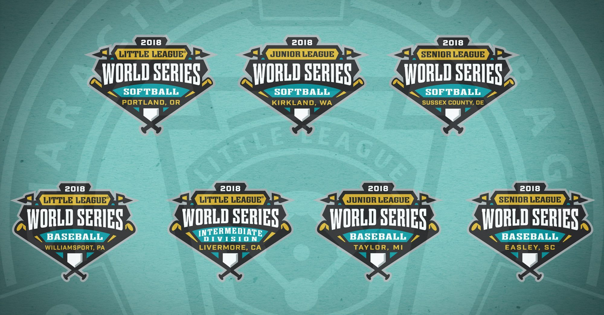 2018 Little League World Series Logos