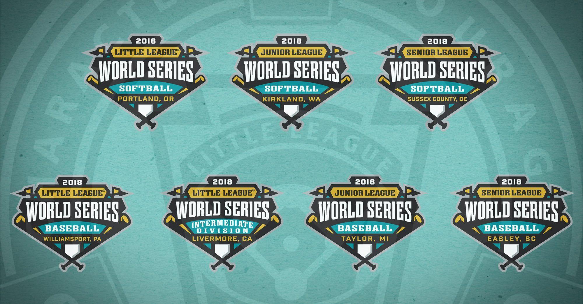 2018 little league174 world series logos unveiled little