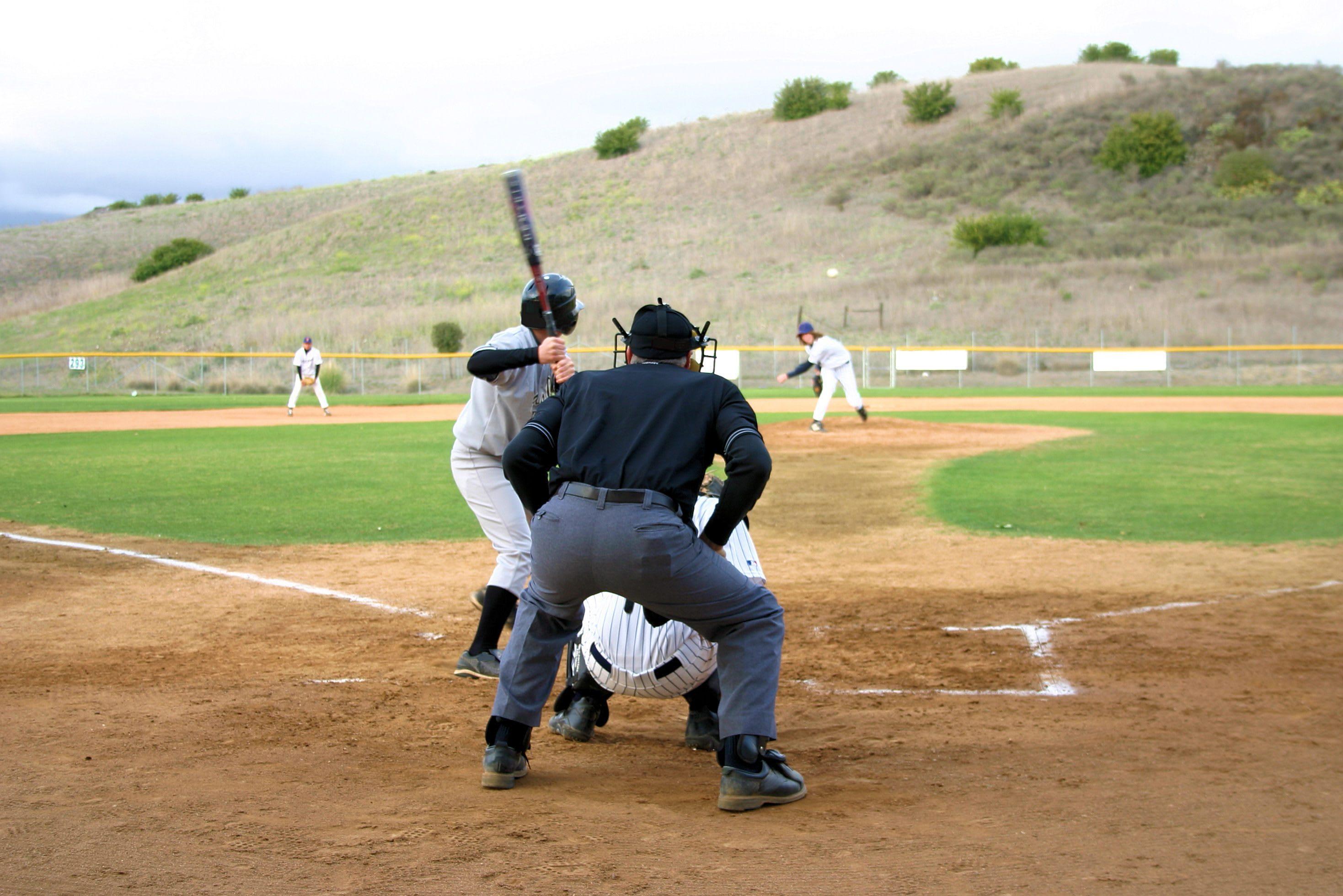 plate umpire