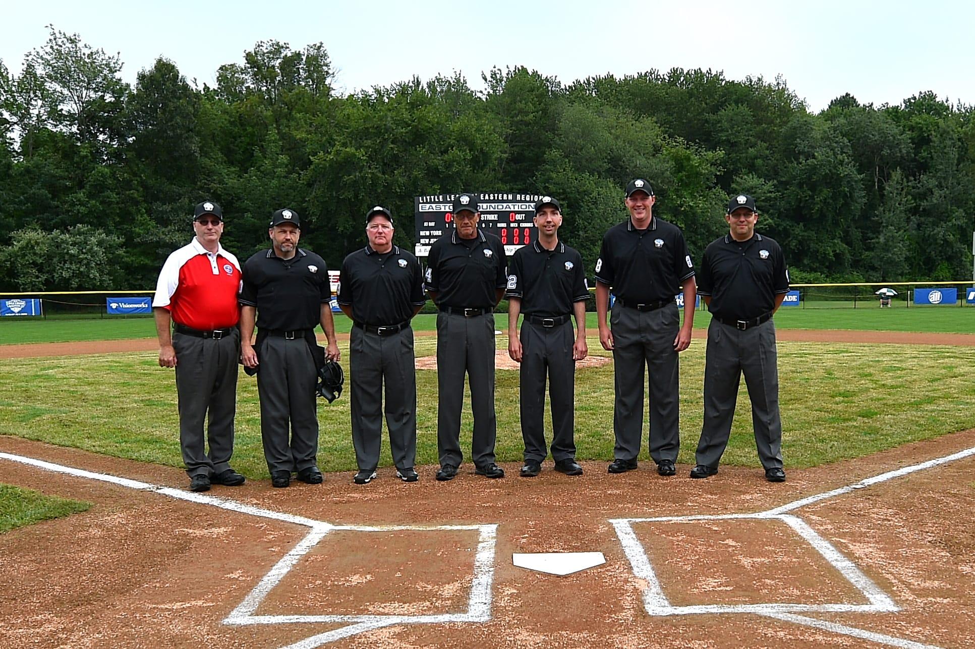 east regional umpires