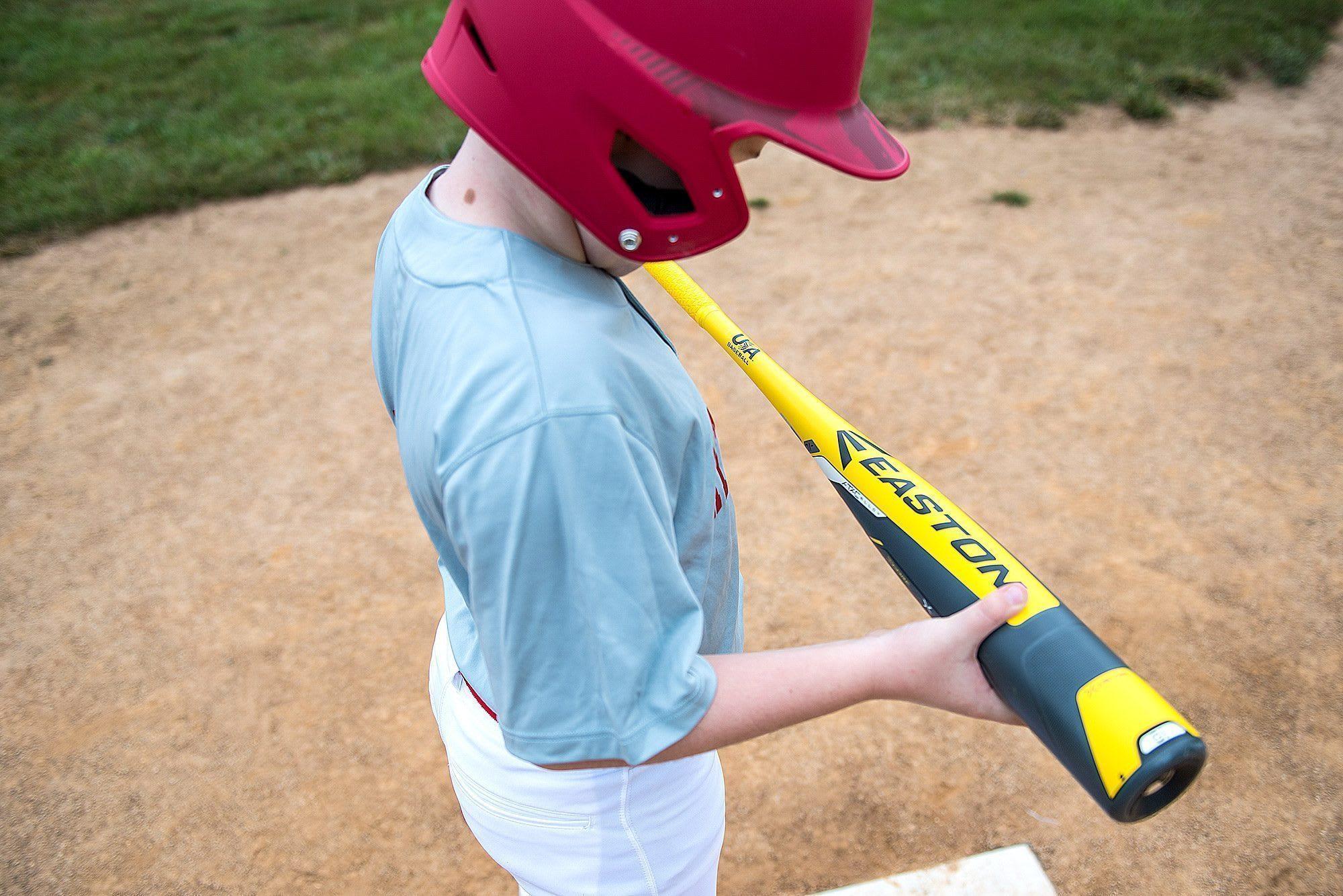 player holding bat