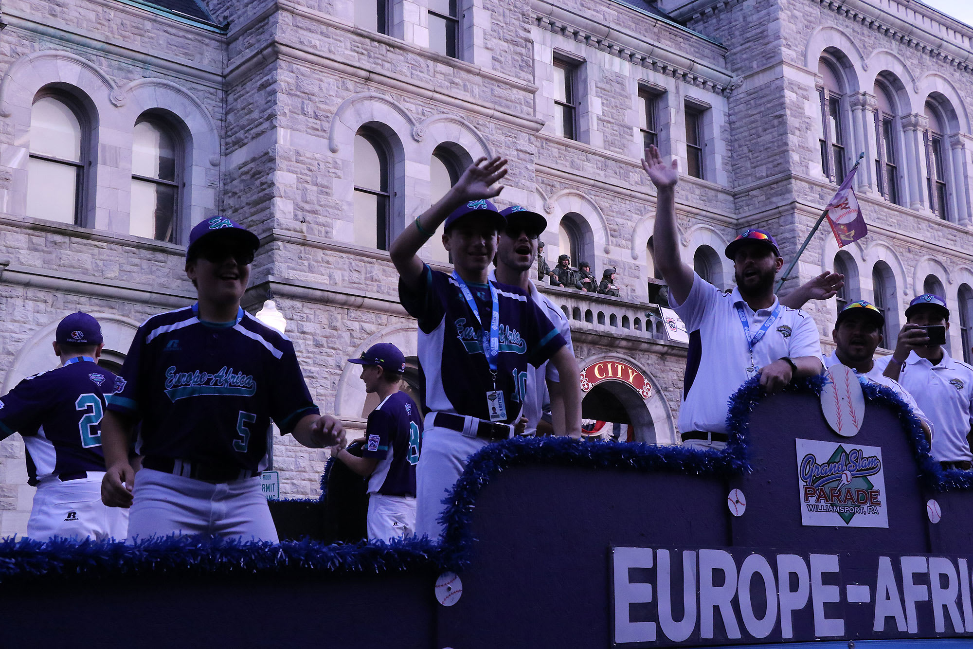 ea grand slam parade
