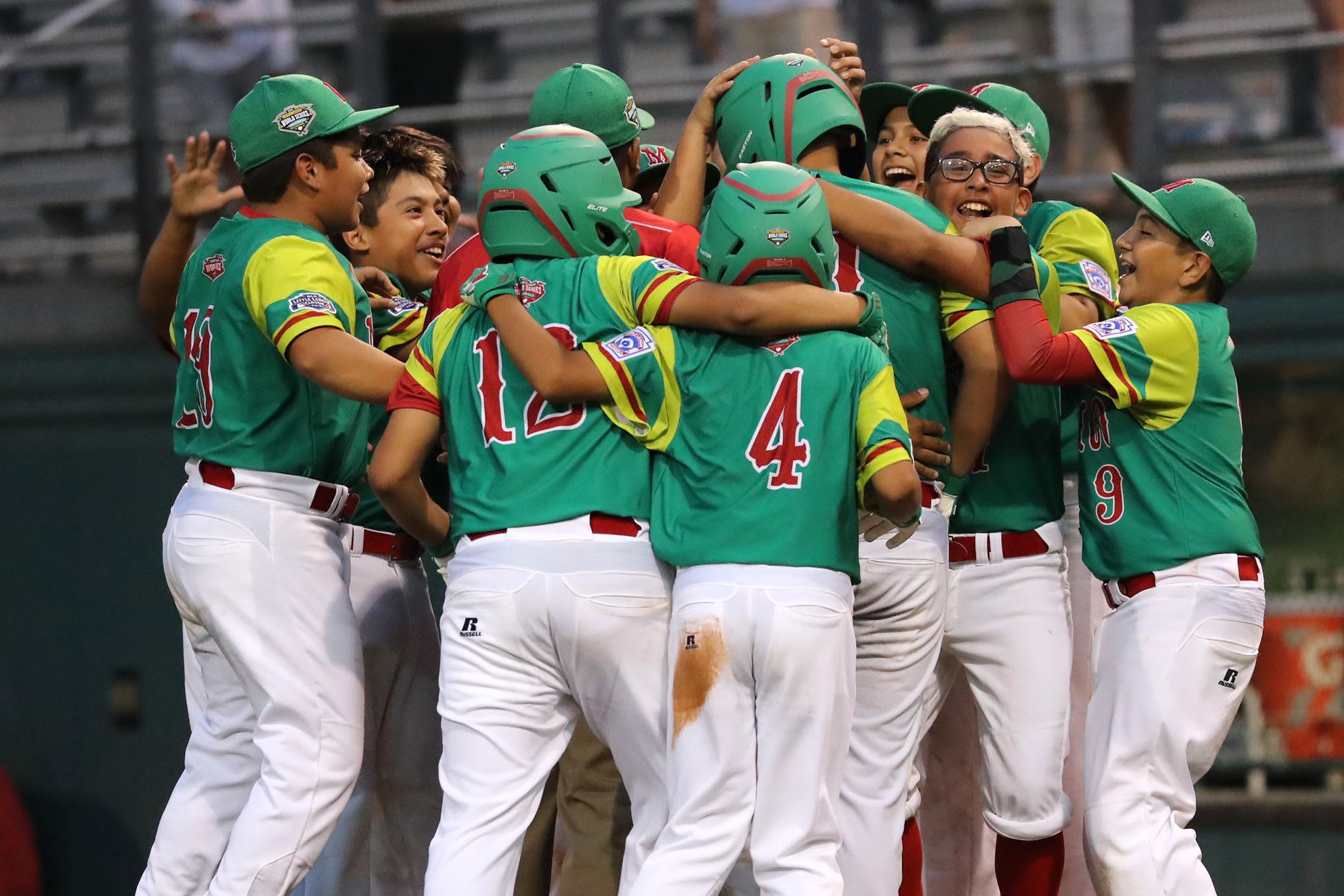 Mexico Team Celebrates