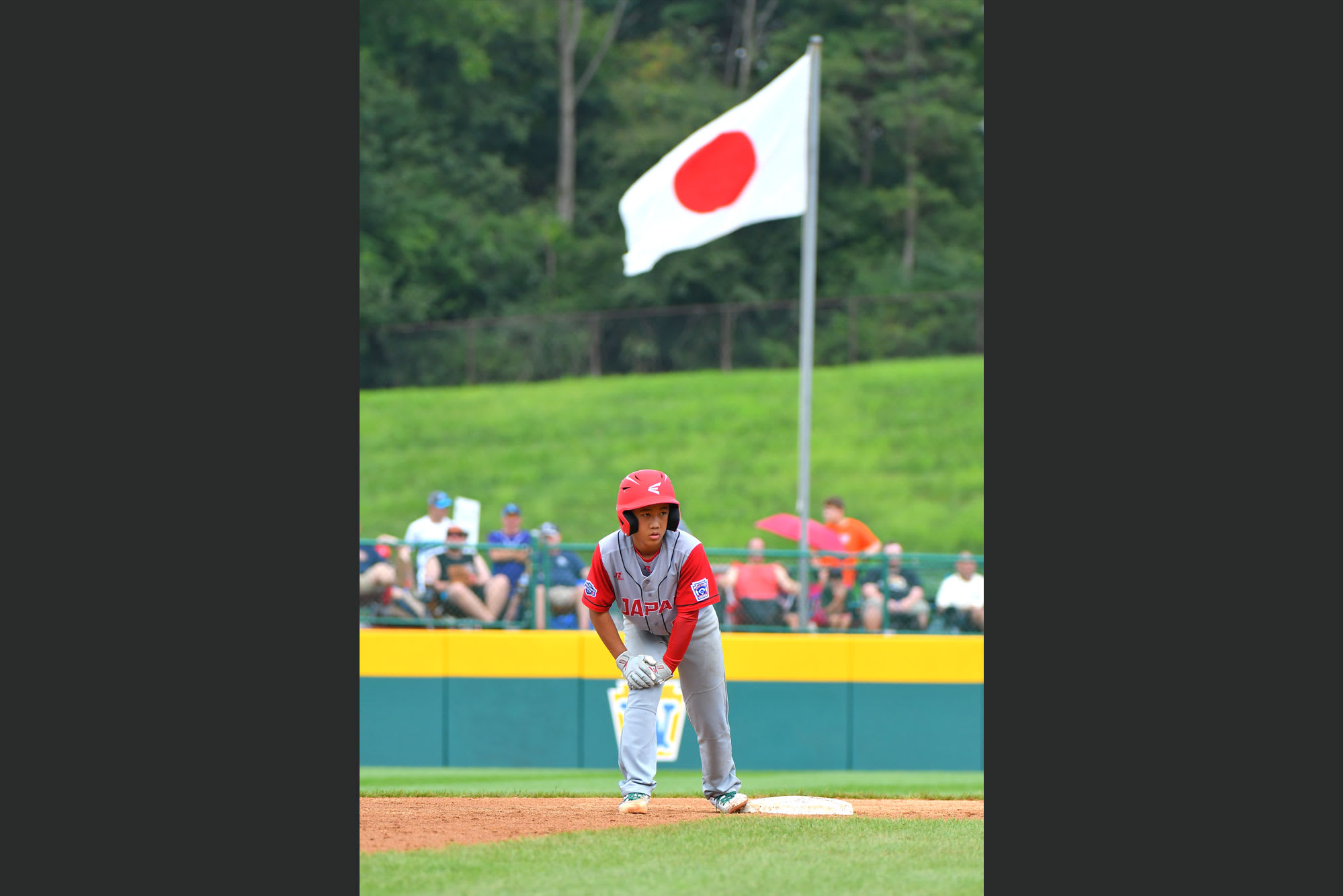japan runner on second