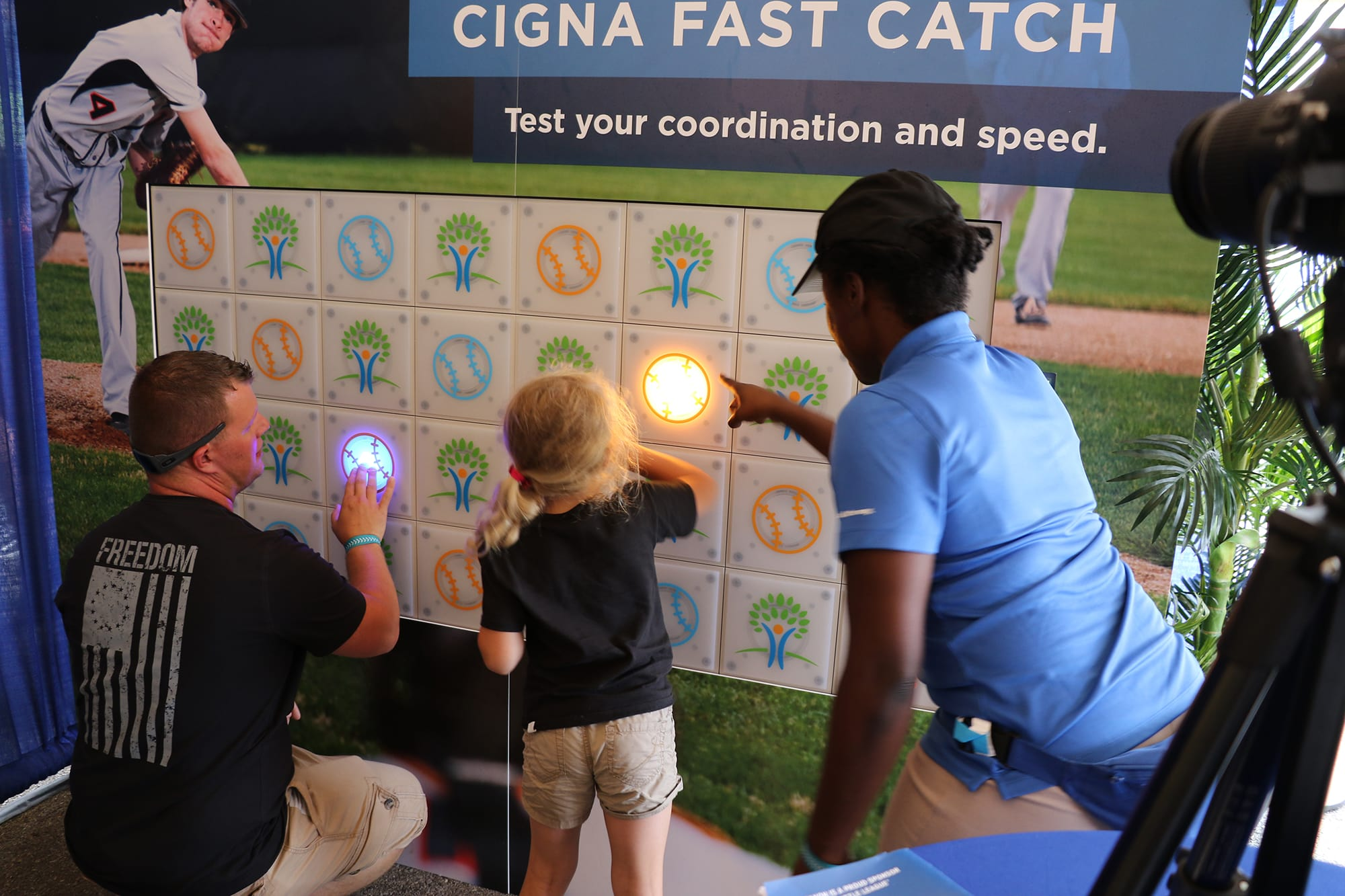 cigna fast catch booth
