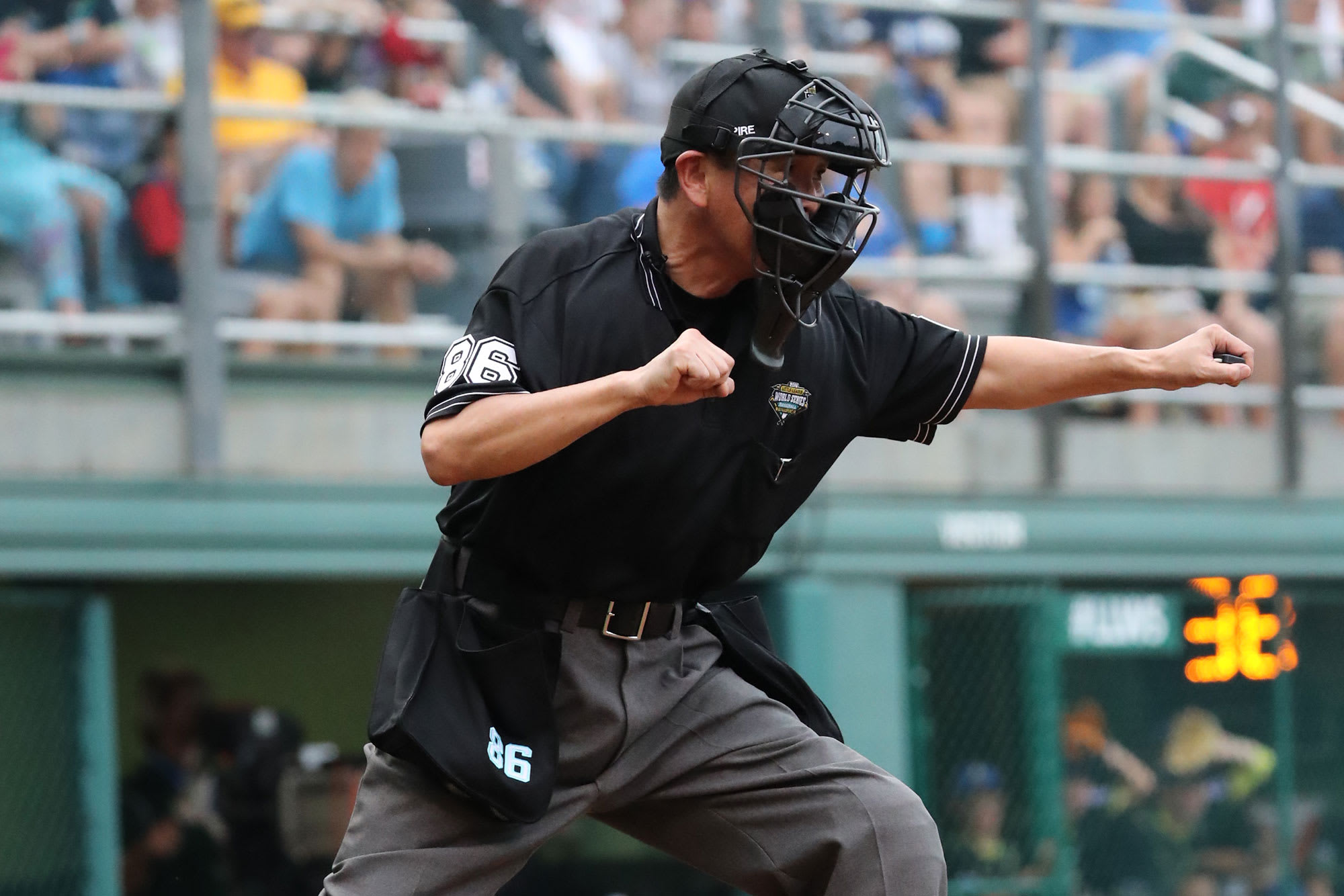 umpire at plate