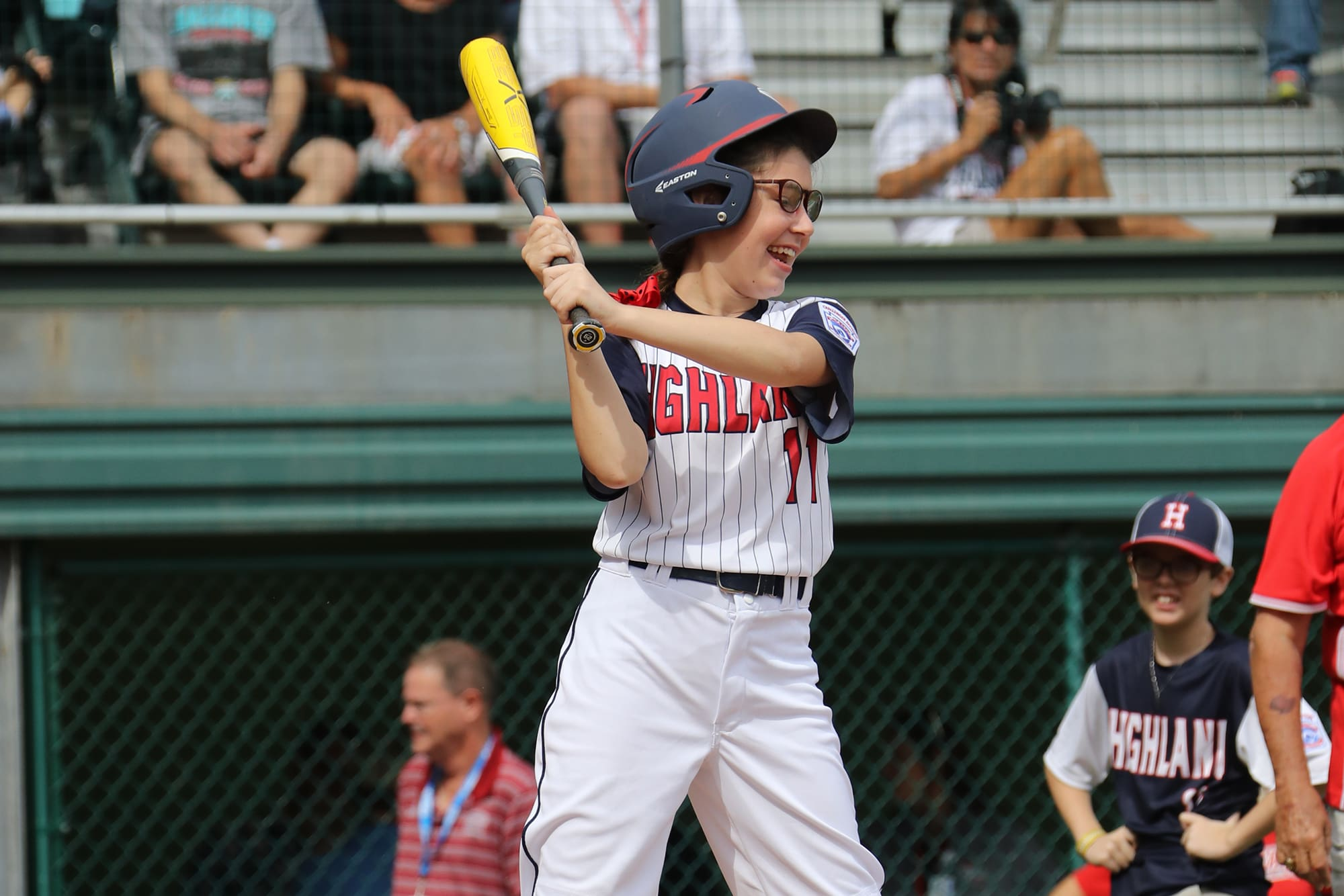 challenger game - player holding bat