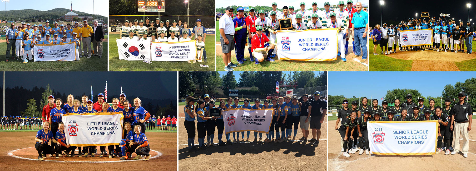 The 2018 Little League® International Tournament Crowns