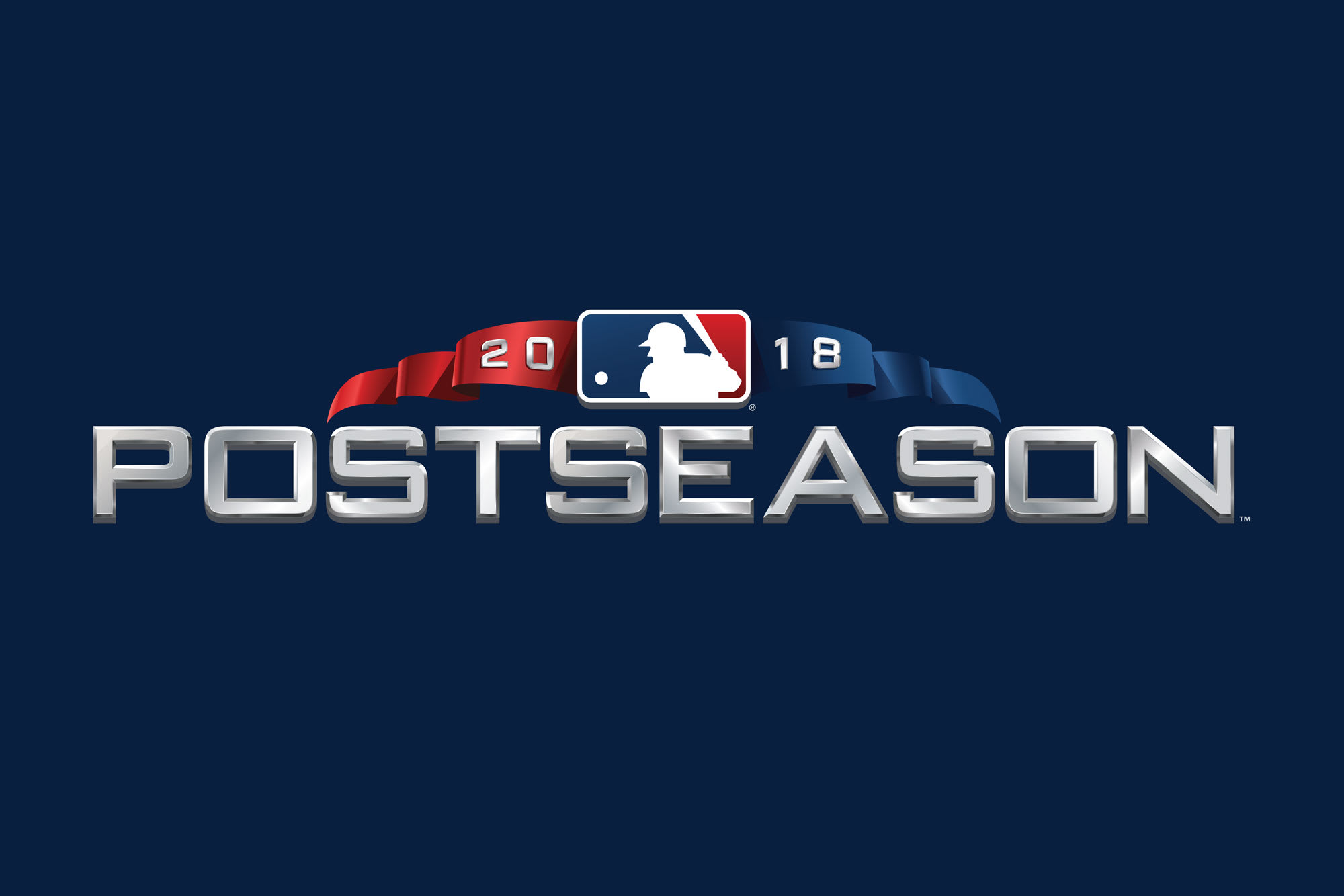 2018 MLB Postseason logo