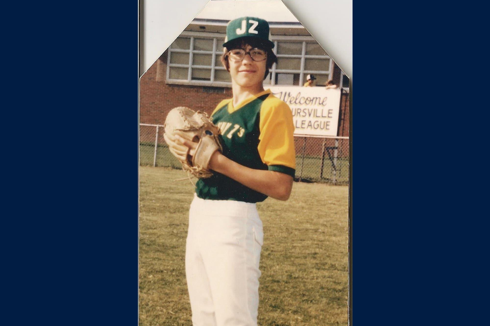 Mike Mussina Montoursville Little League photo.