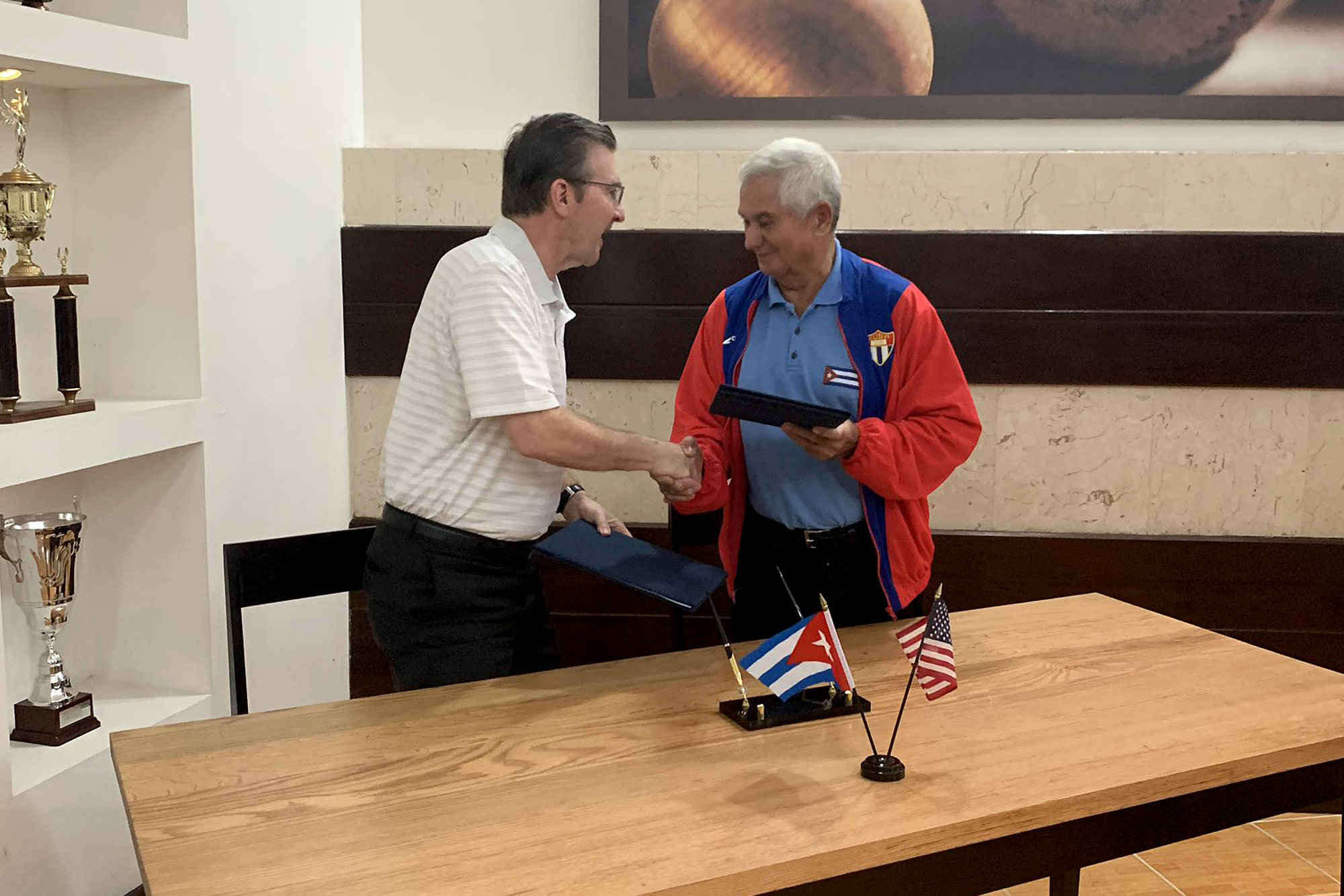 Little League Cuba Agreement