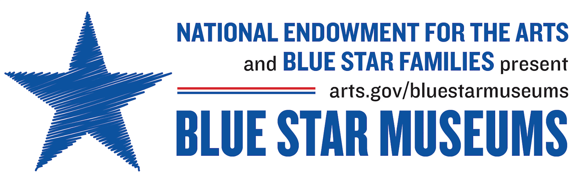 Blue Star Museum Program Logo