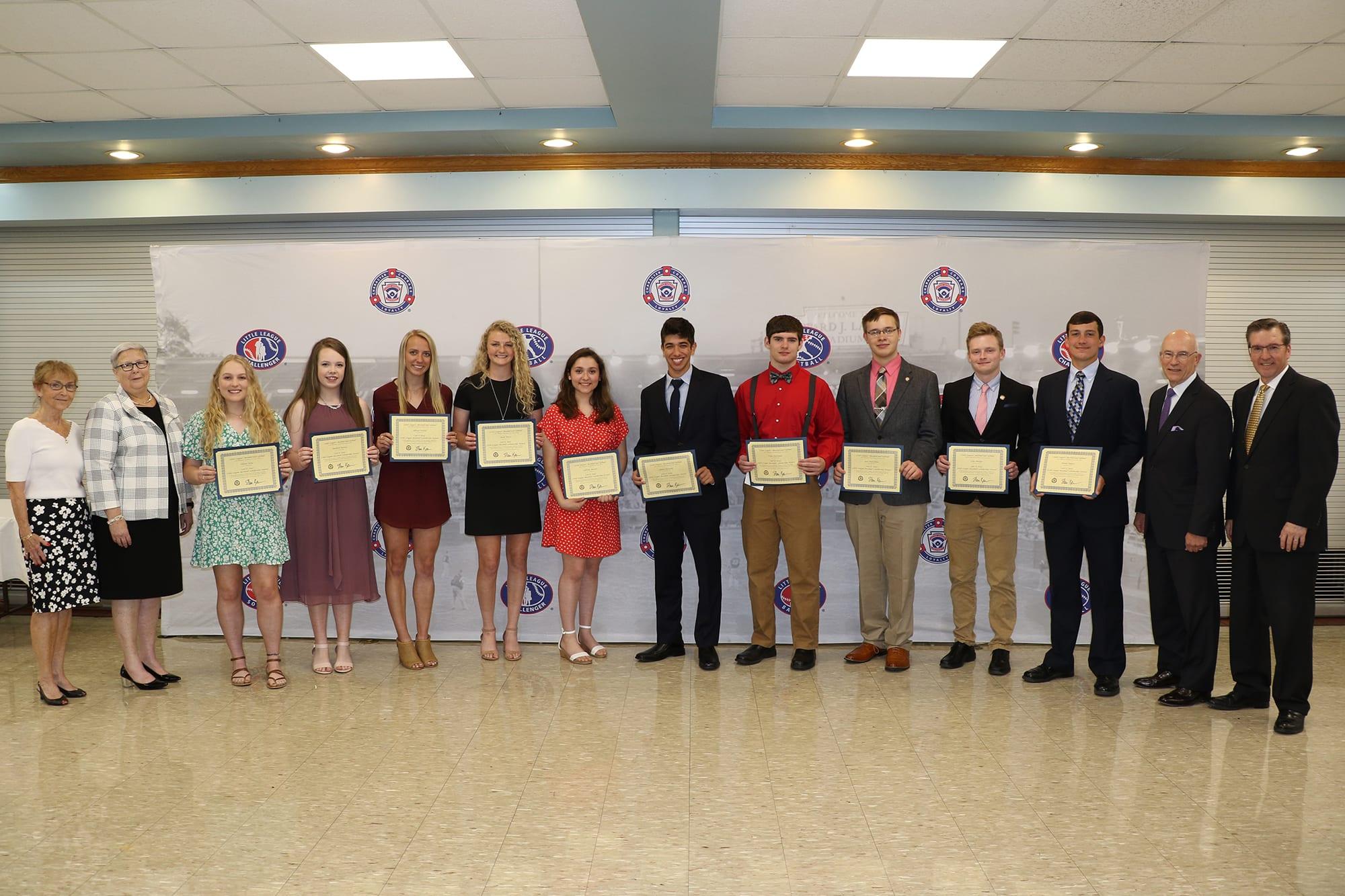 2019 Stotz Scholarship Award Recipients