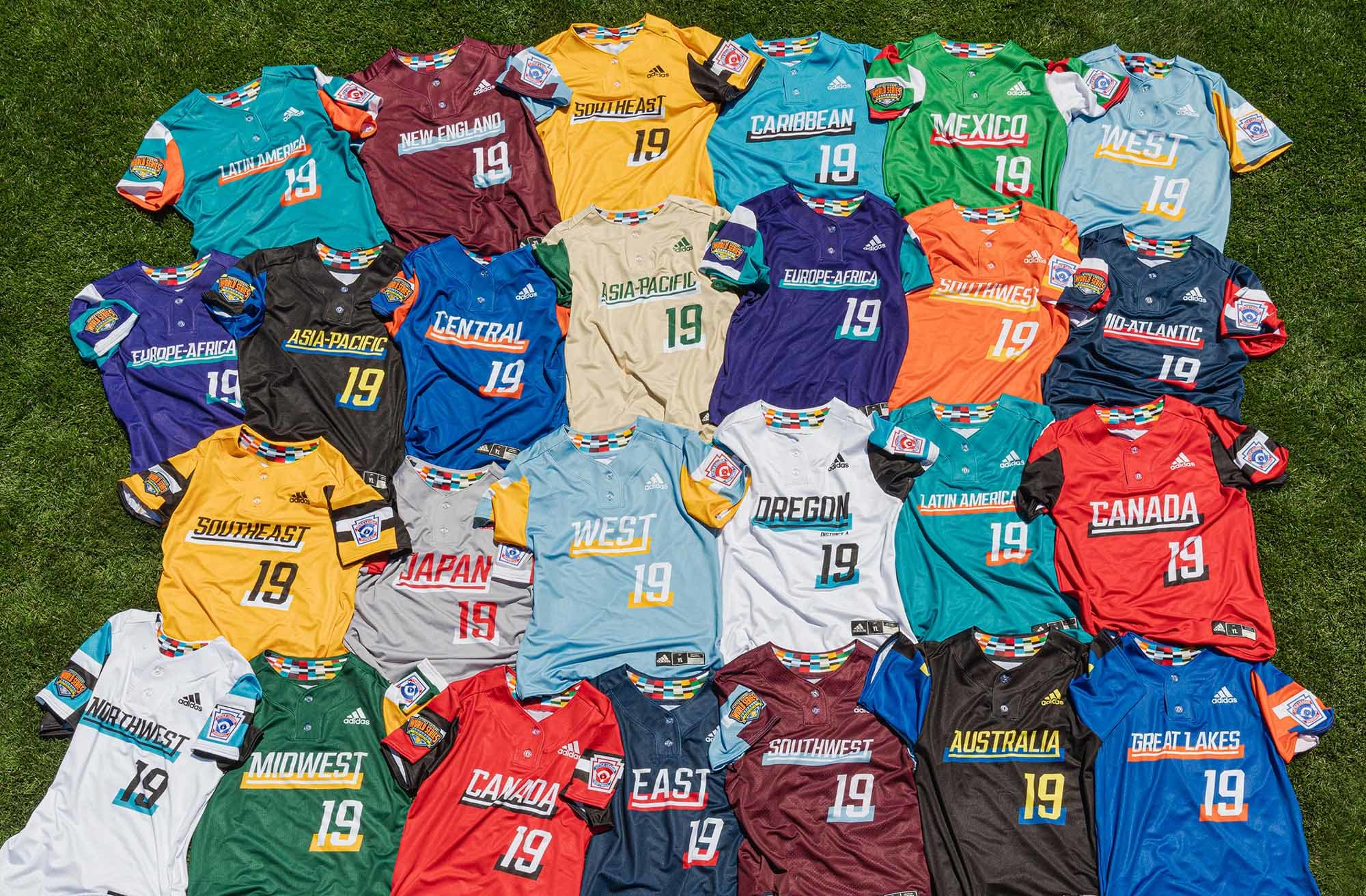 2019 LLWS Uniforms by adidas