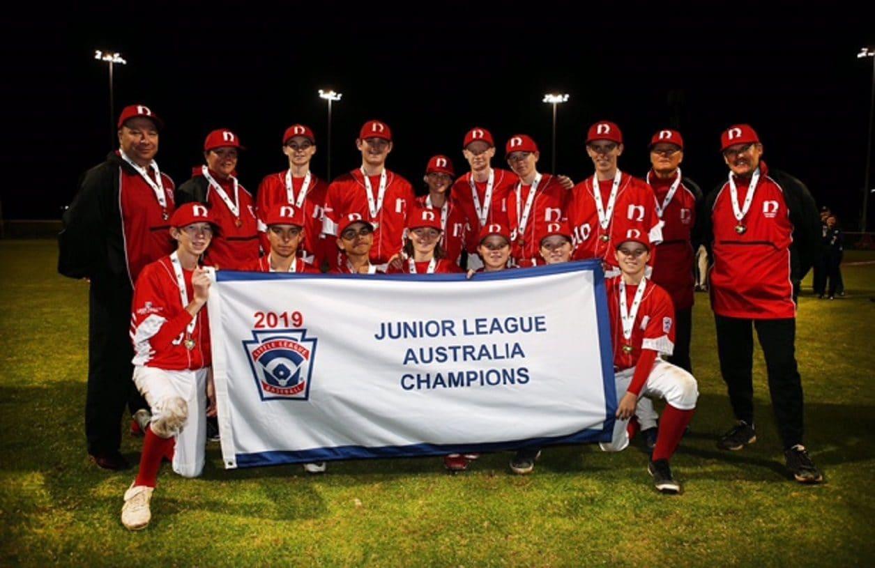 2019 JLBWS Australia Region Champions