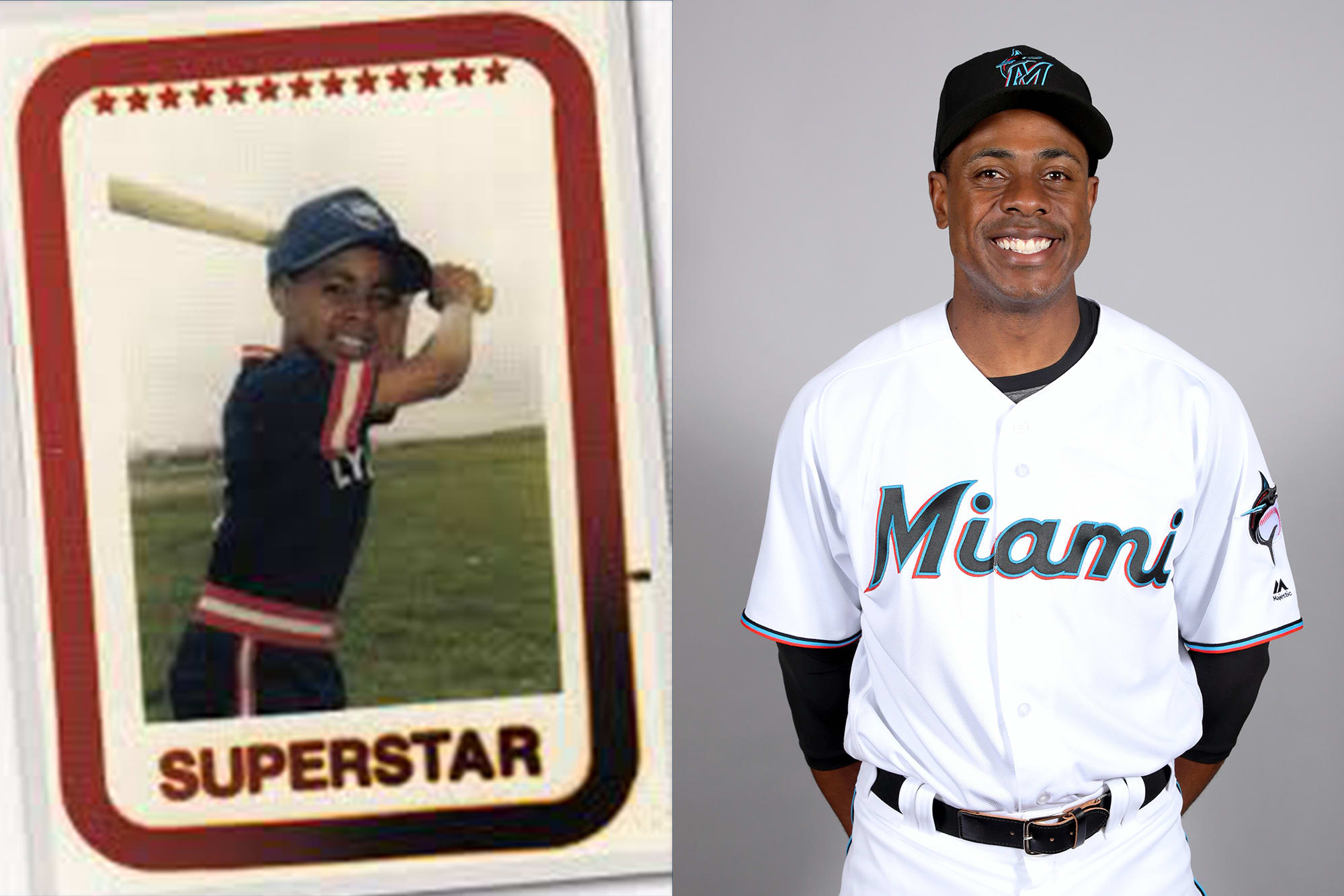 Curtis Granderson LL and MLB Photo