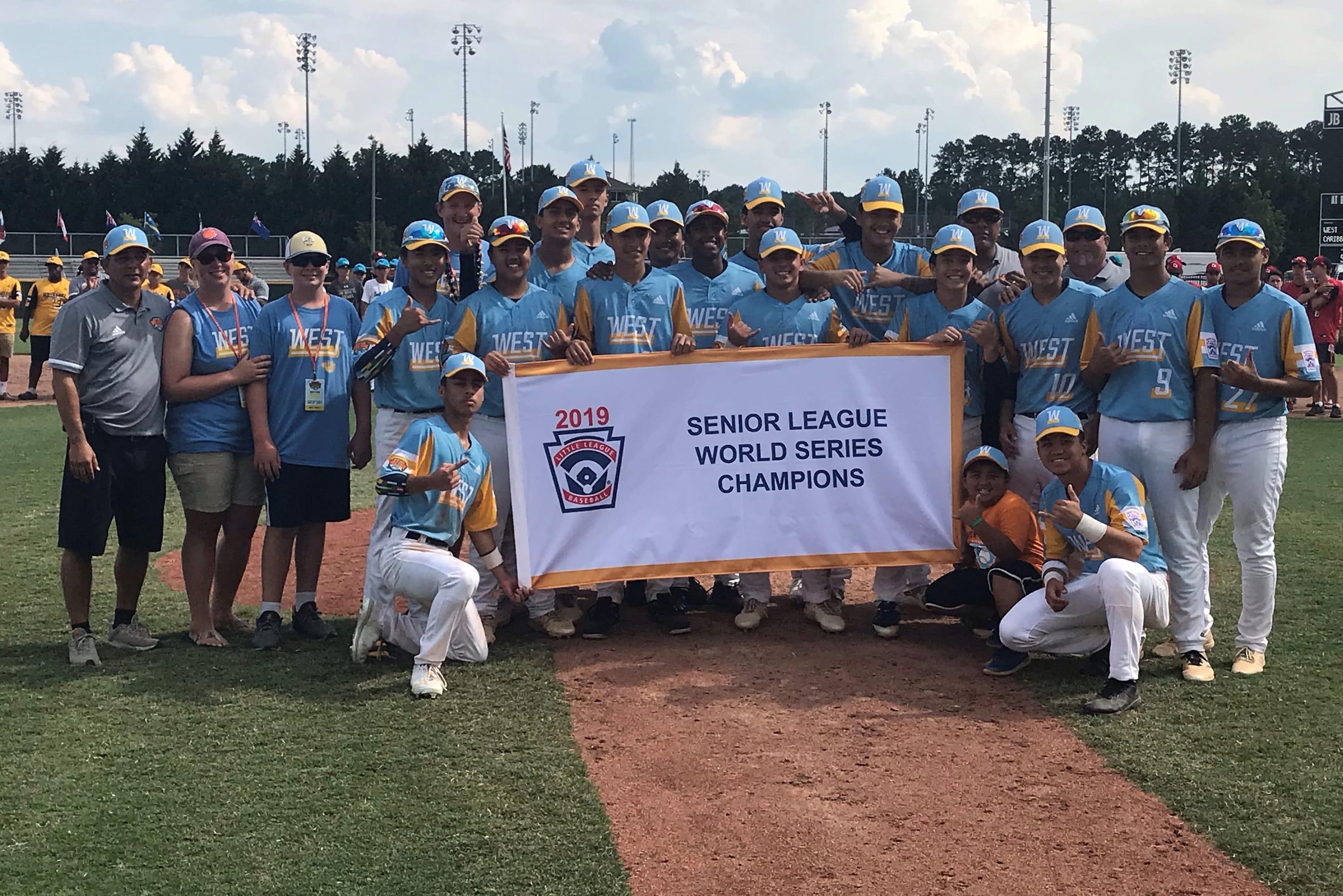 2019 SLBWS Champions - West Region