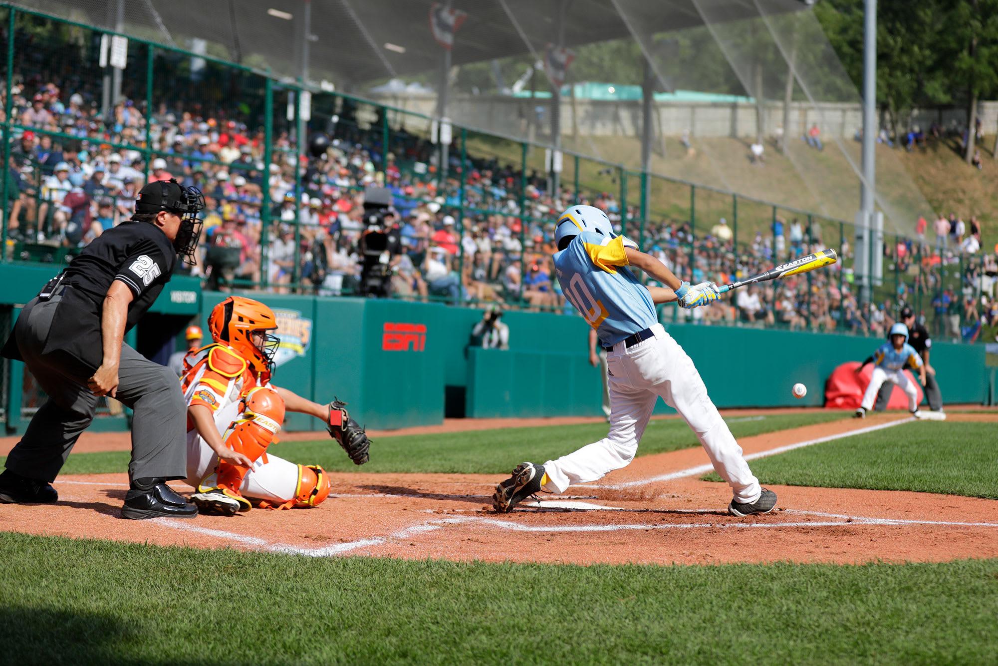west batter swinging