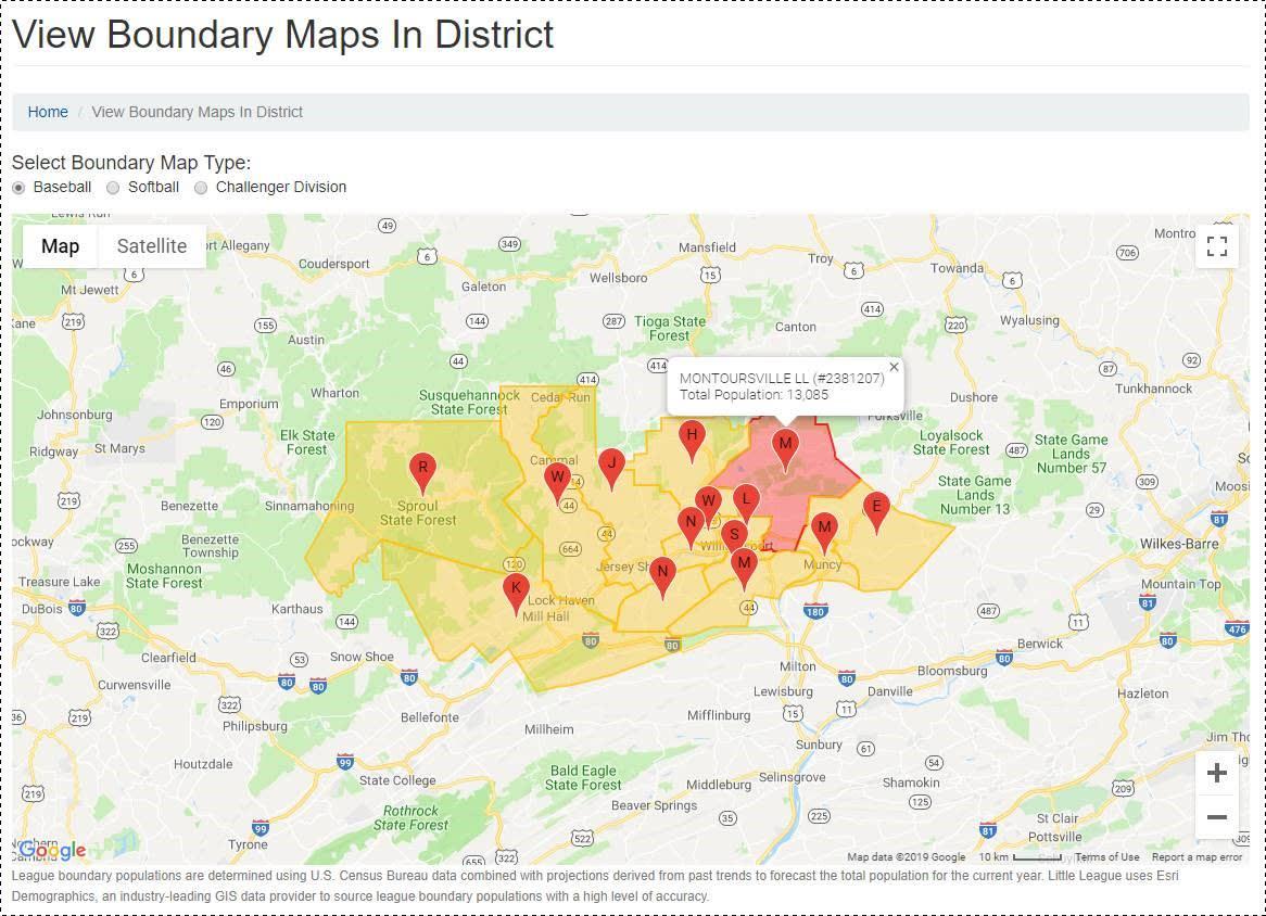 league-boundary-map
