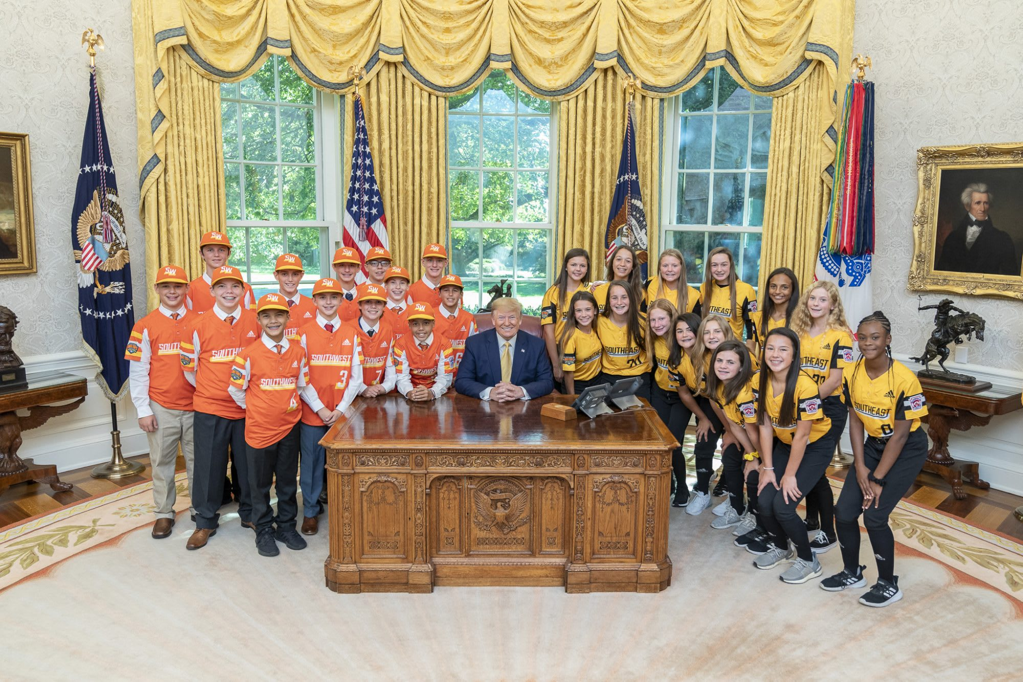 LLWS Champs at White House