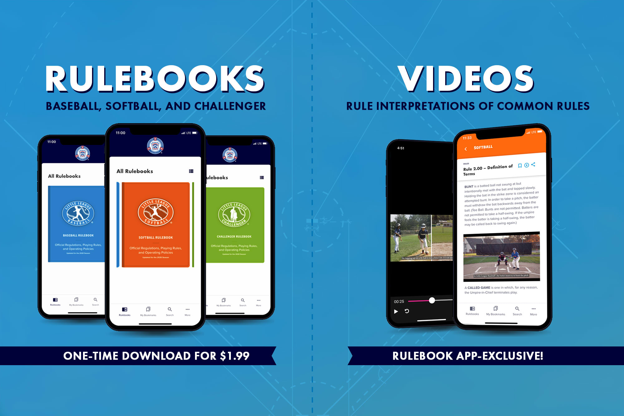 rulebook app rulebooks and videos