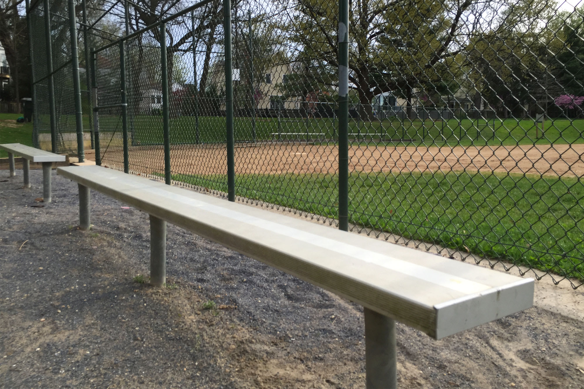 bench view field