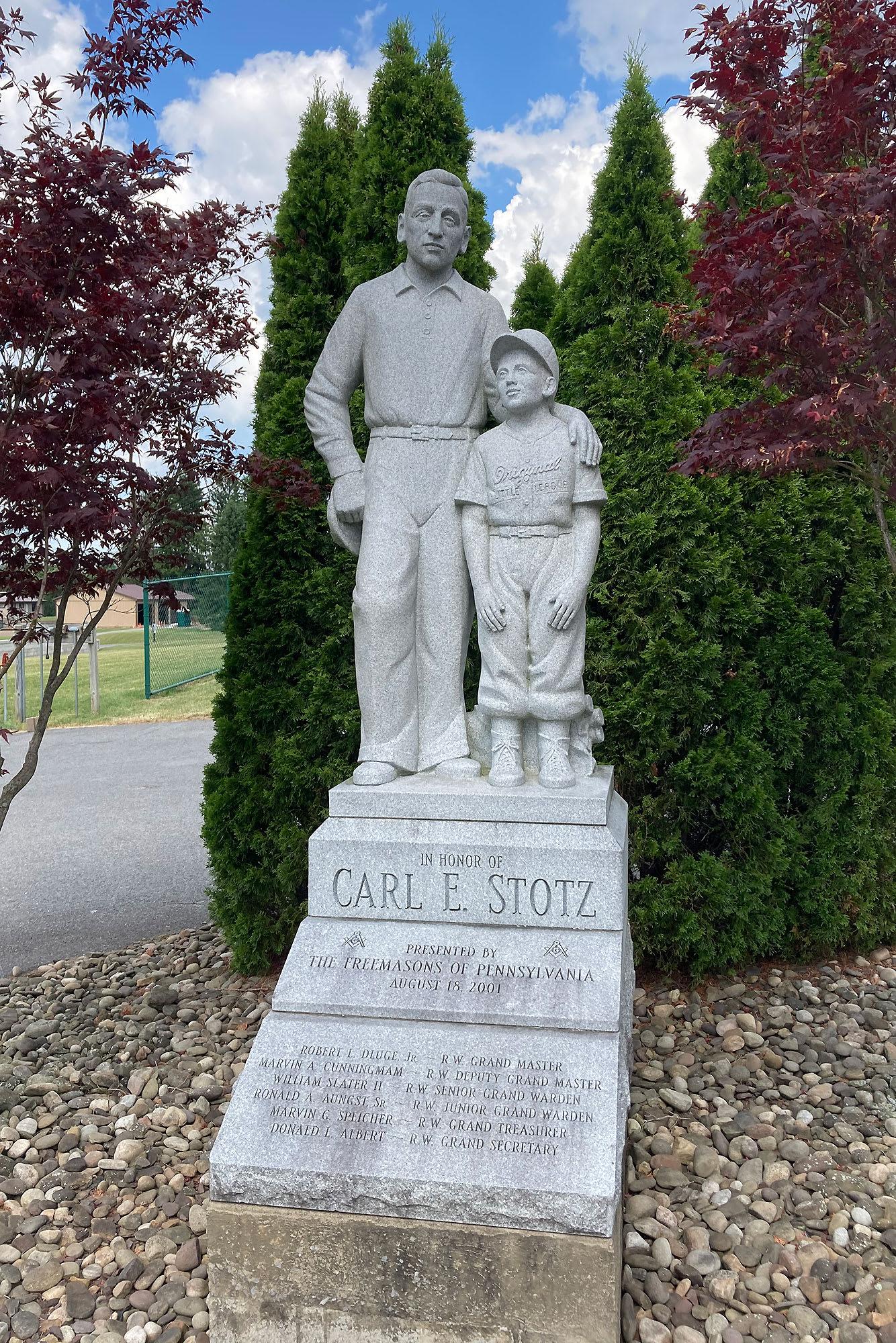 Carl Stotz Statue