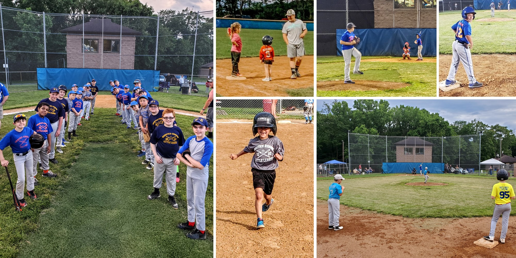 Woodstock Edinburg Little League collage