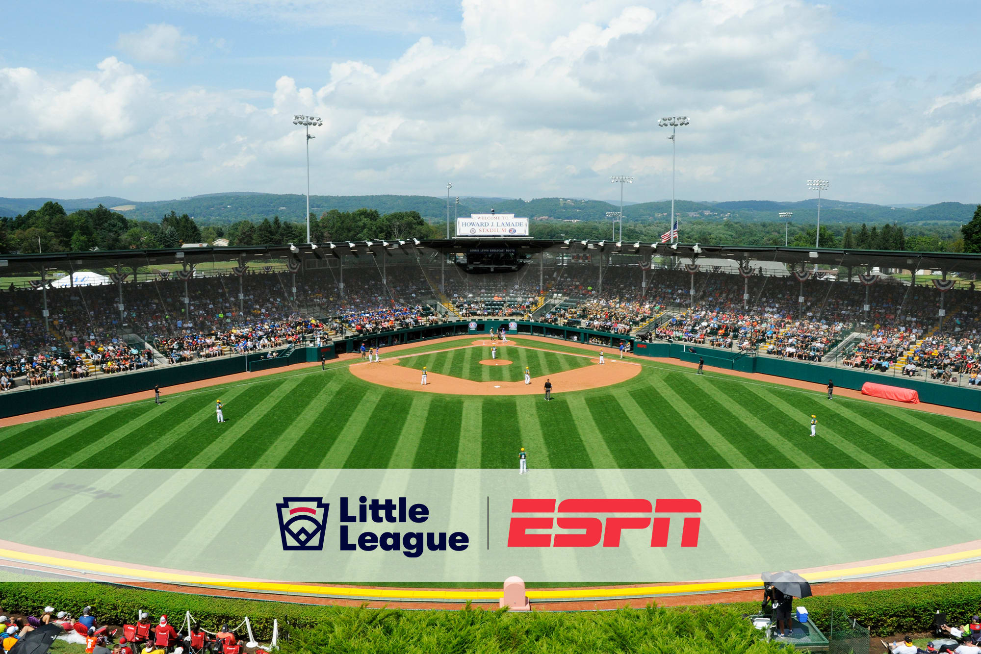 lamade field with espn and ll logo