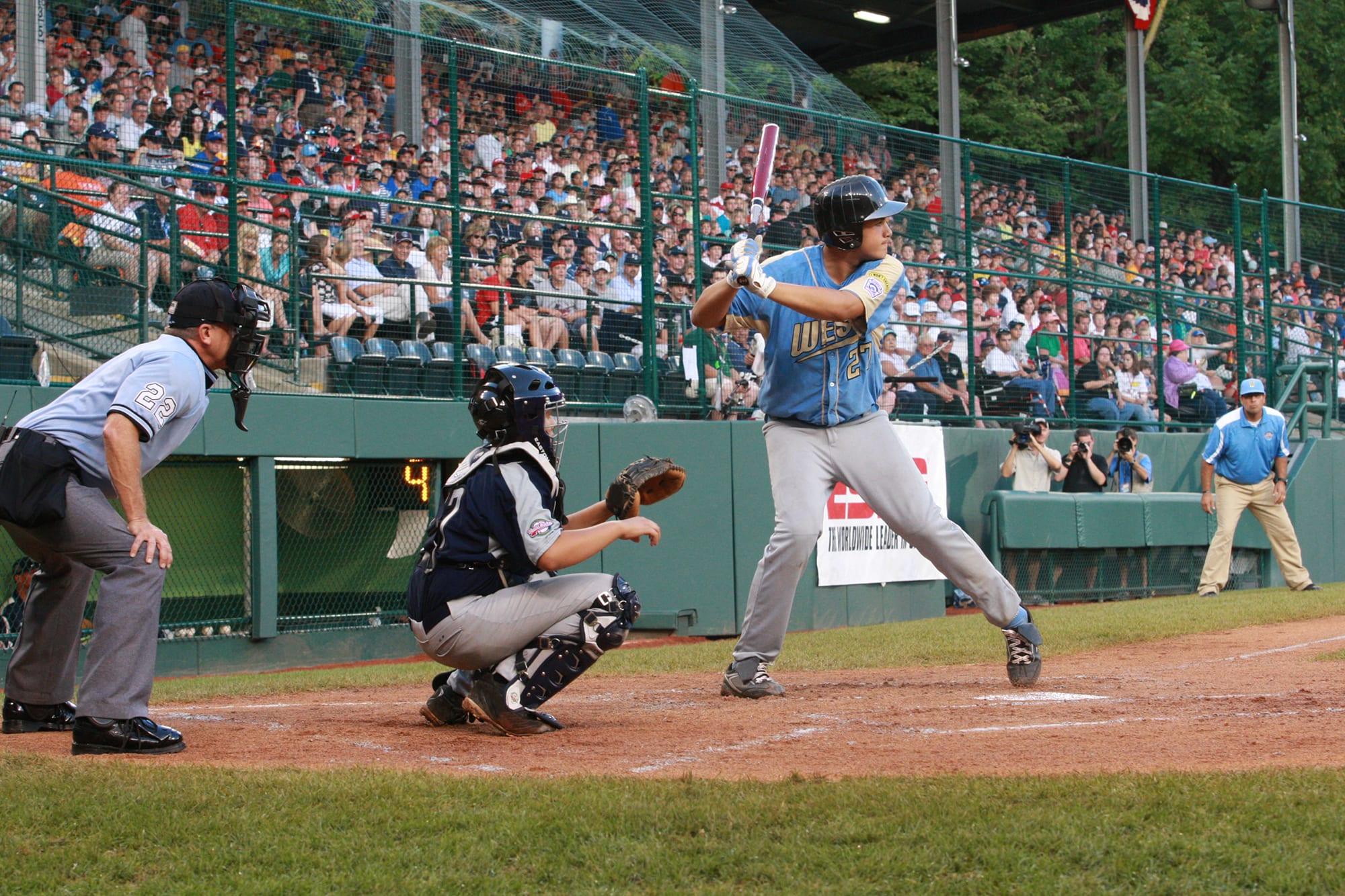 Luke Ramirez batting