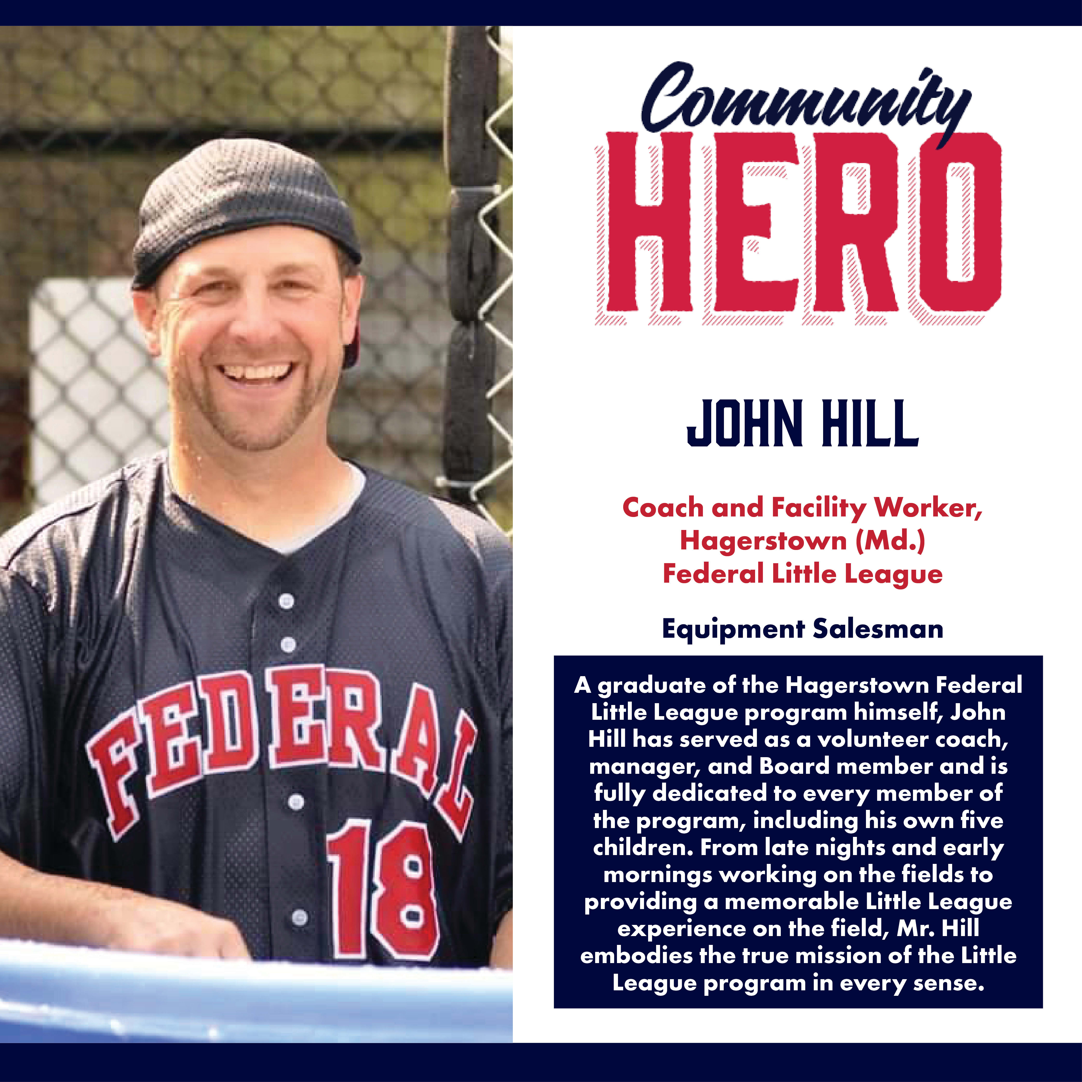 John Hill Community Hero