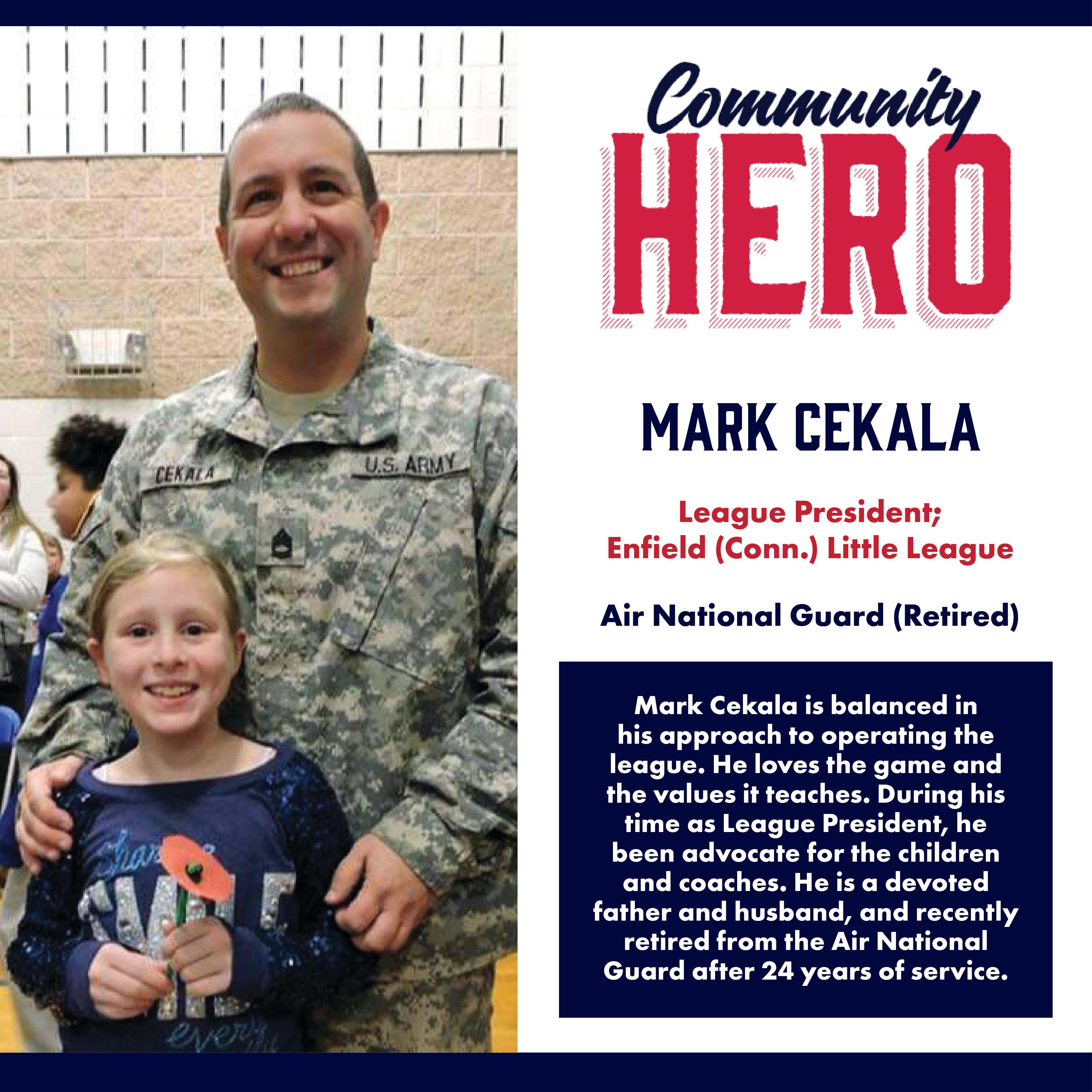 Mark Cekala Community Hero