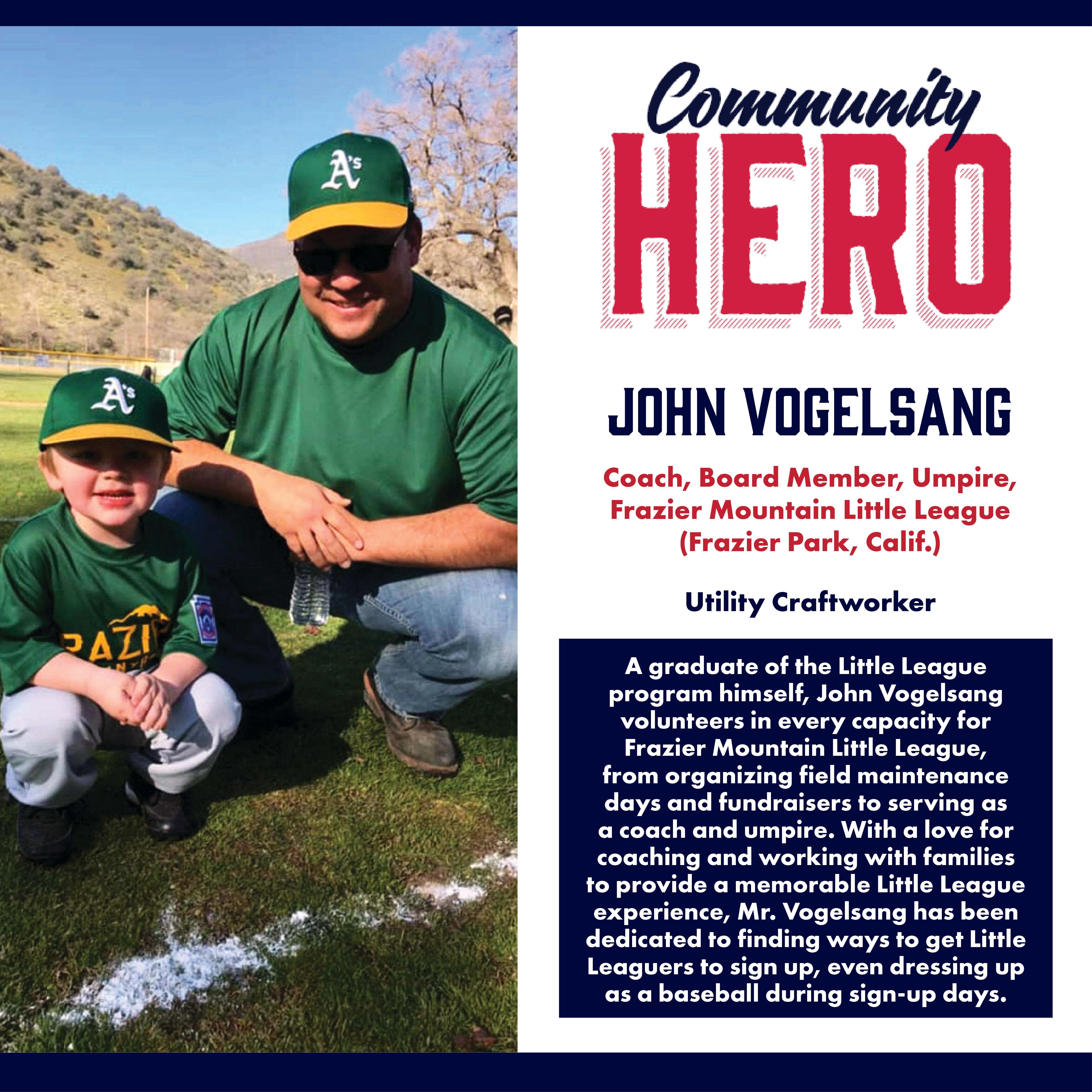 John Vogelsang Community Hero