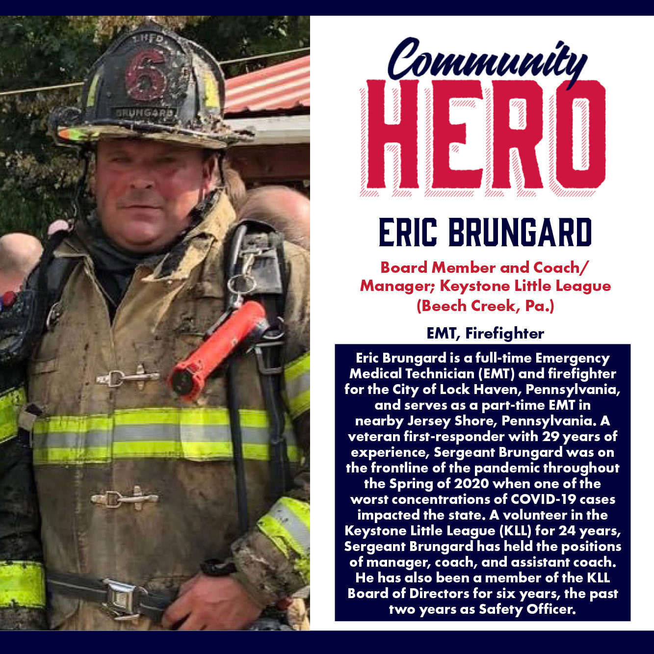 Eric Brungard Community Hero