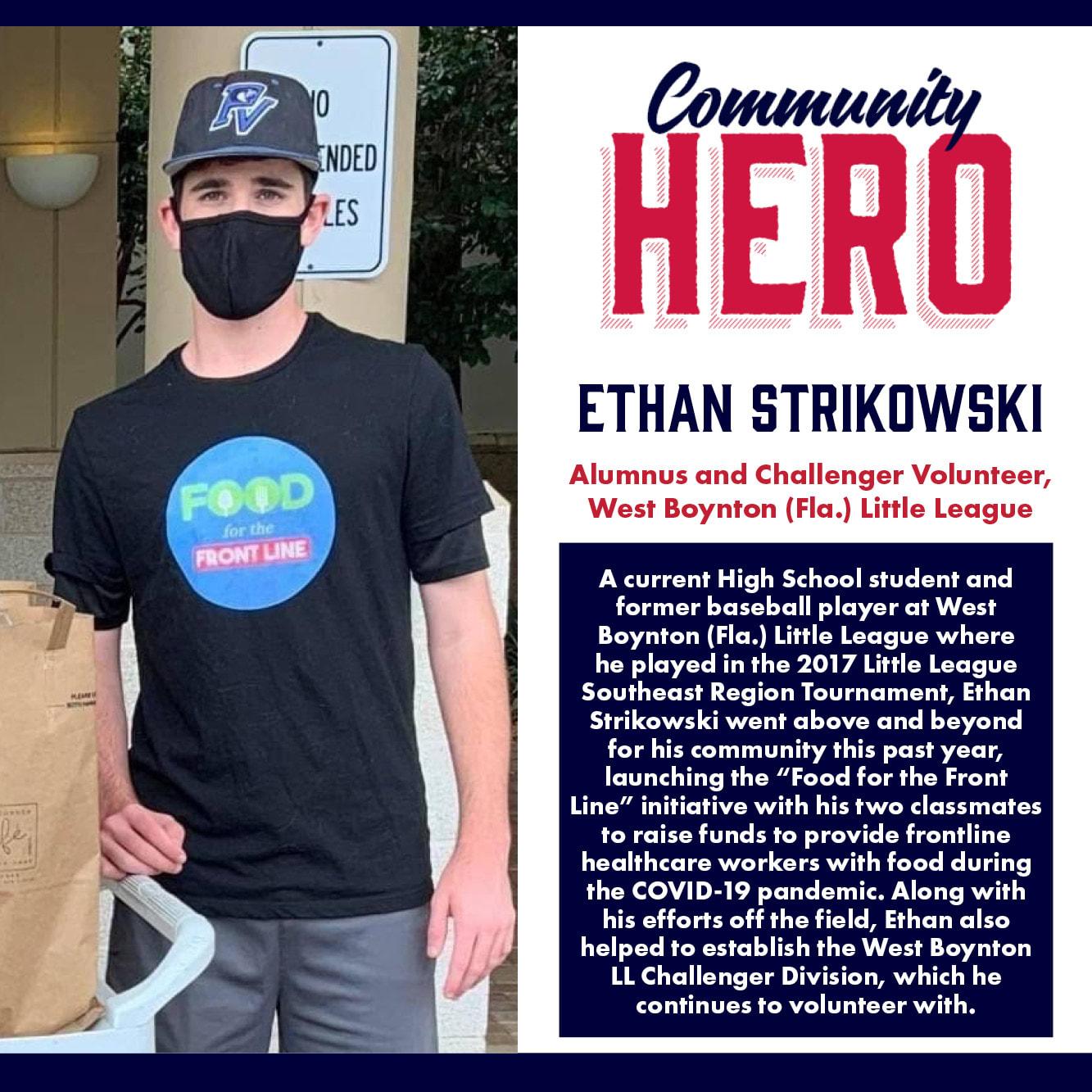Ethan Strikowski Community Hero