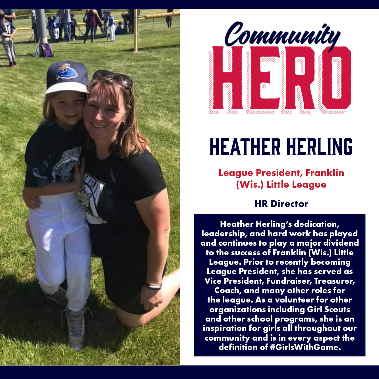 Heather Herling Community Hero