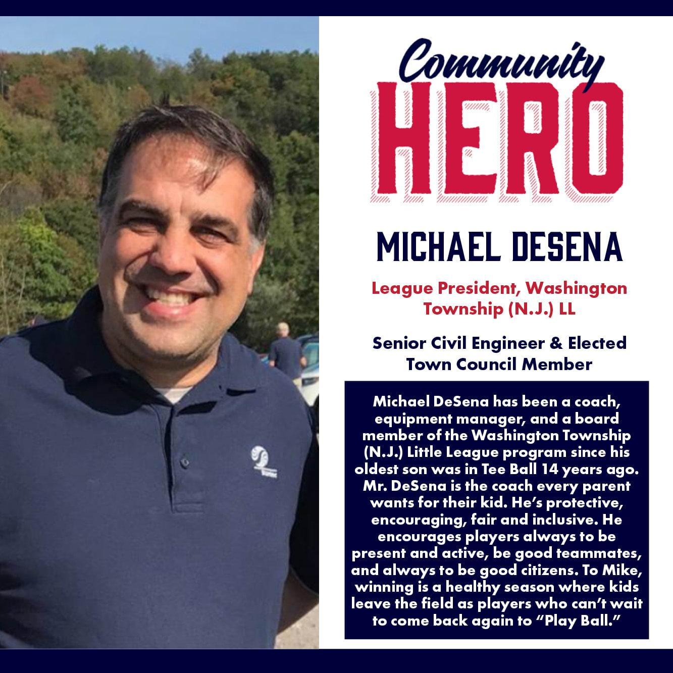 Michael Desena Community Hero