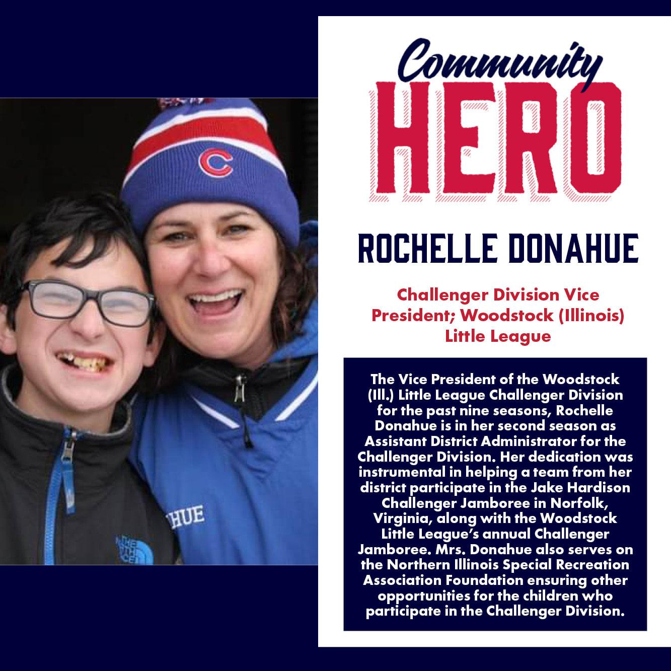 Rochelle Donahue Community Hero