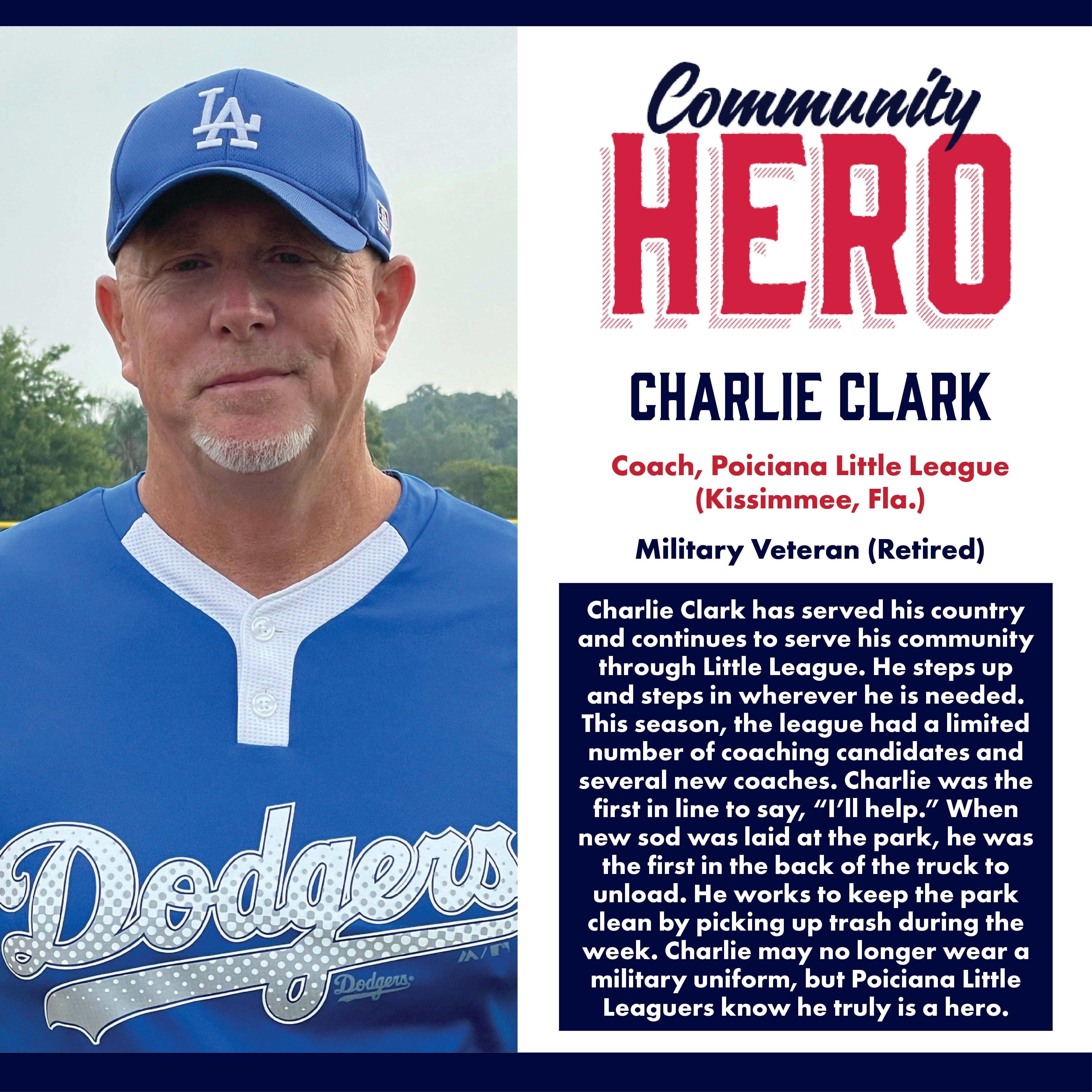 Charlie Clark Community Hero