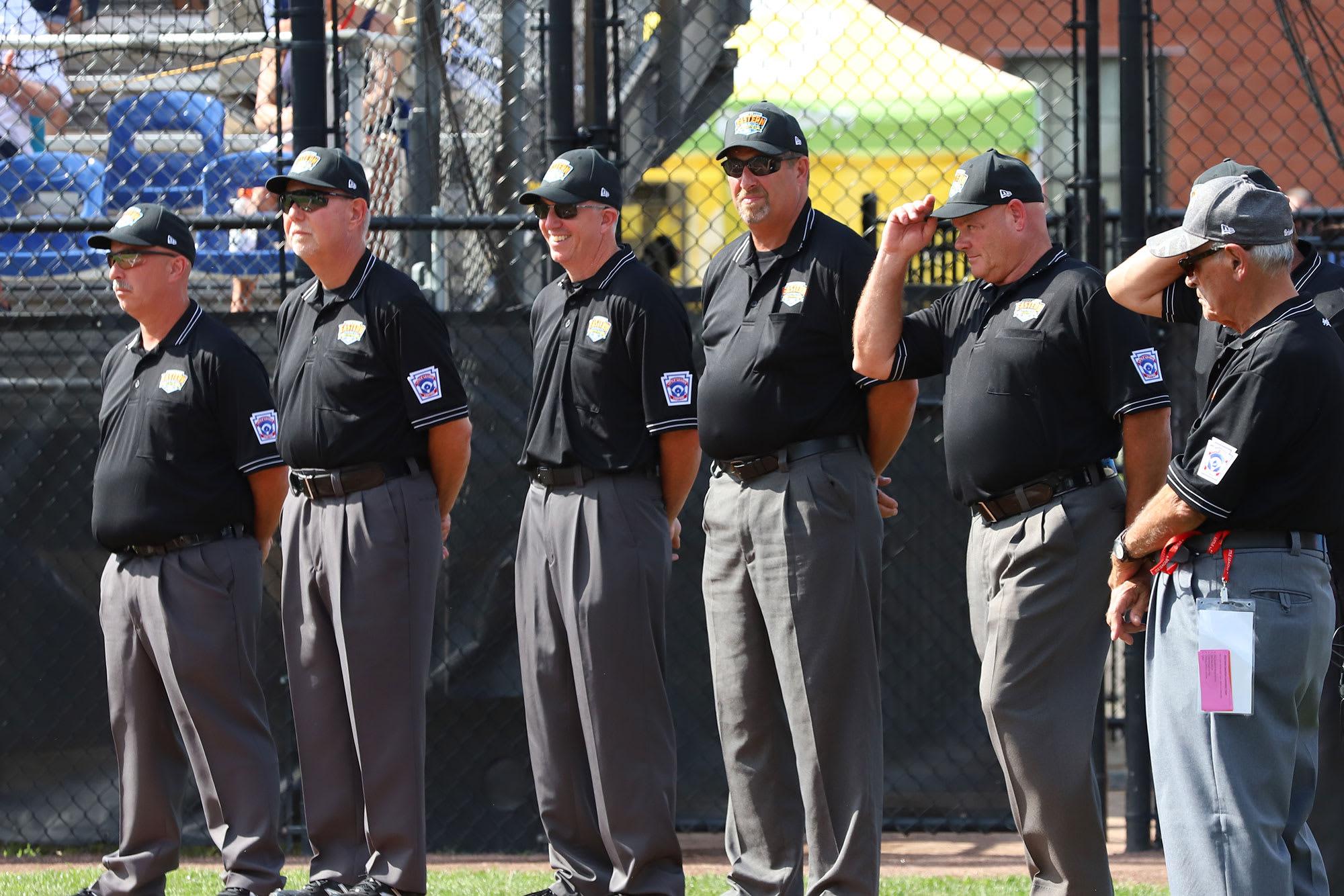 2019 east region umpires