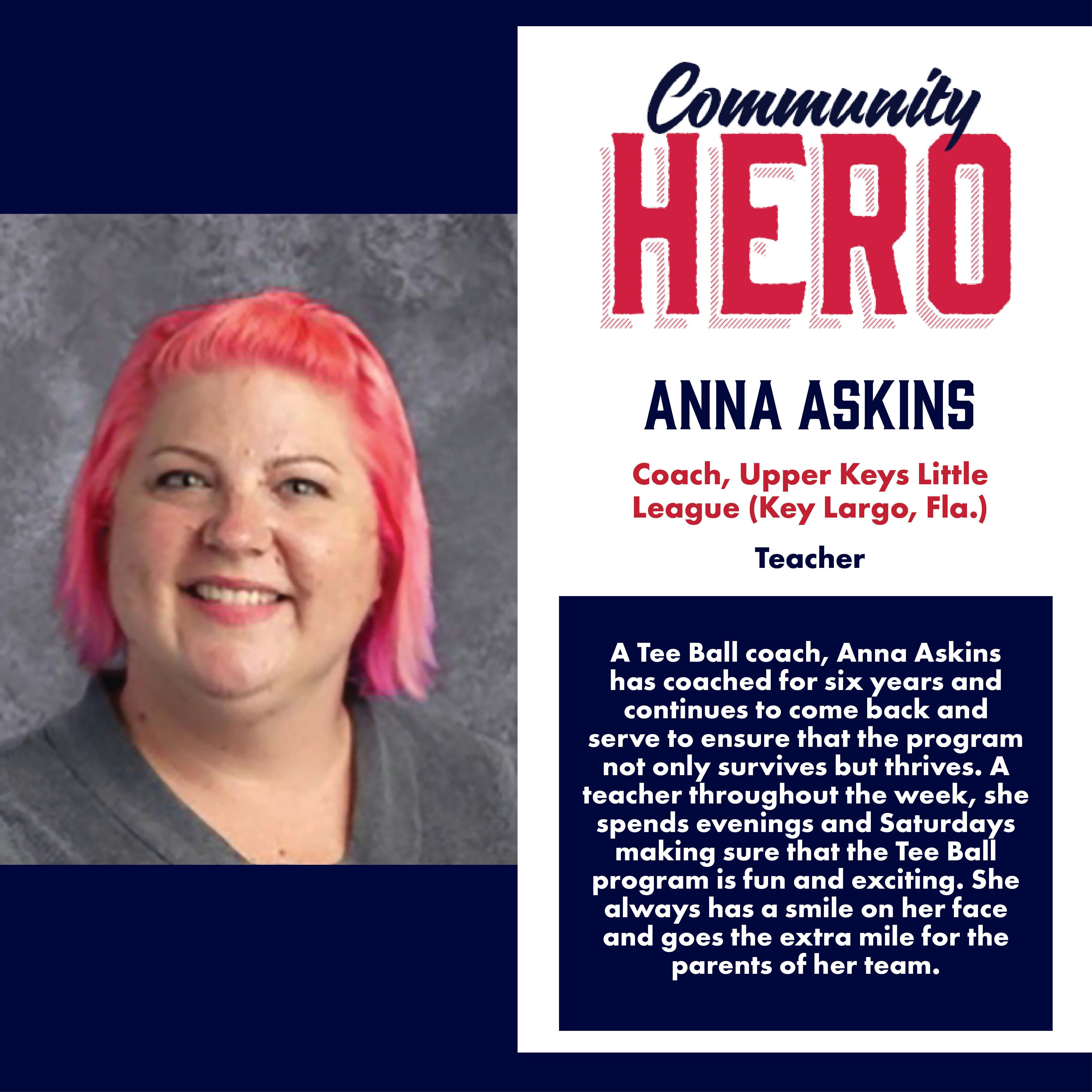 Anna Askins Community Hero
