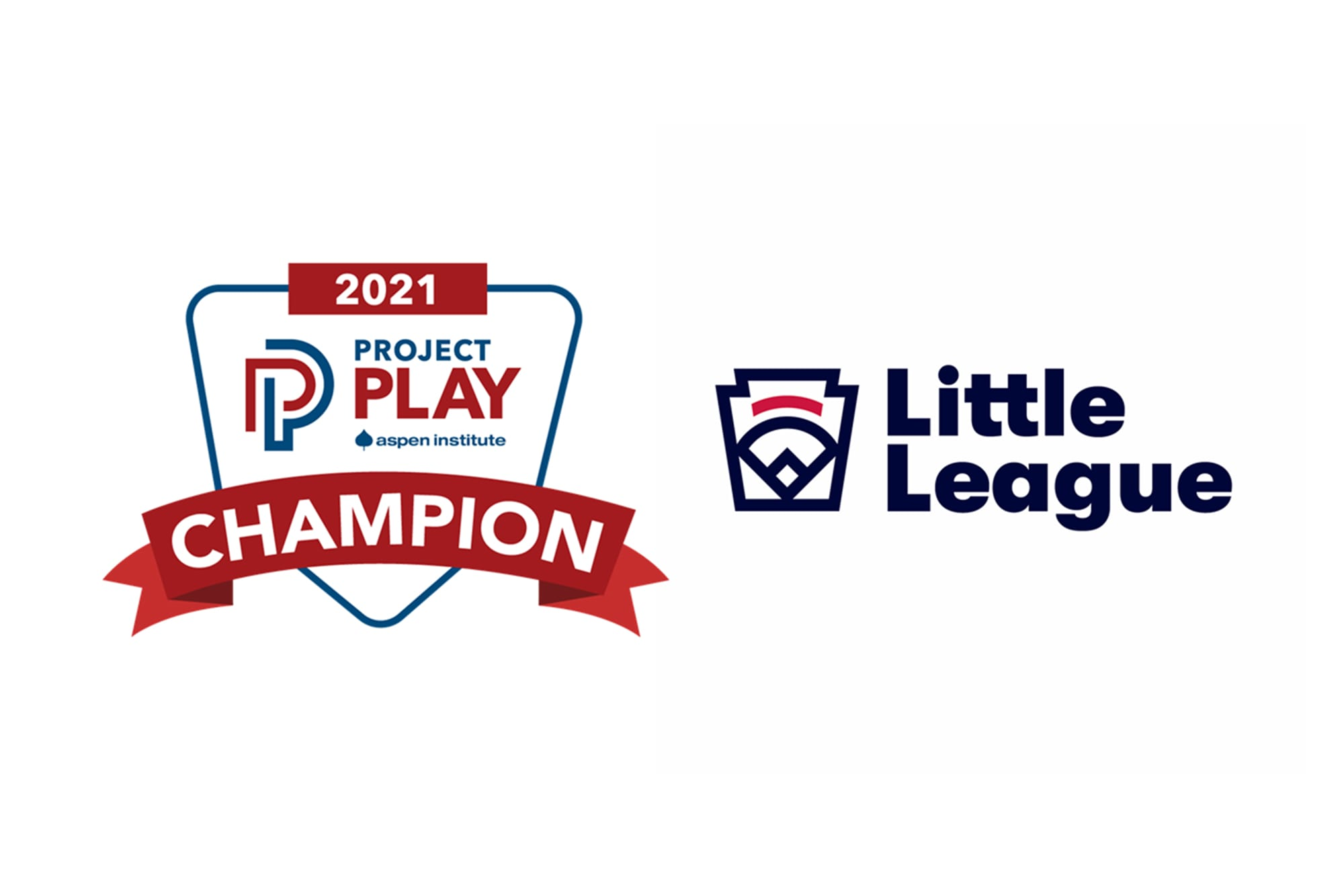 Project Play Champions Logo Lockup