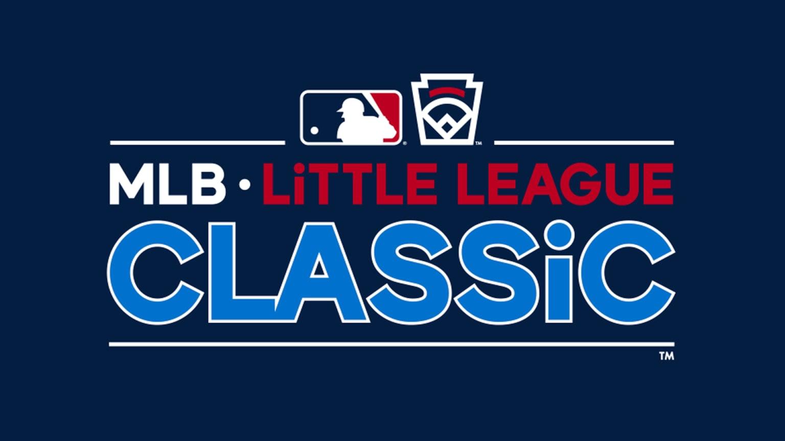 2022 MLB Little League Classic Logo