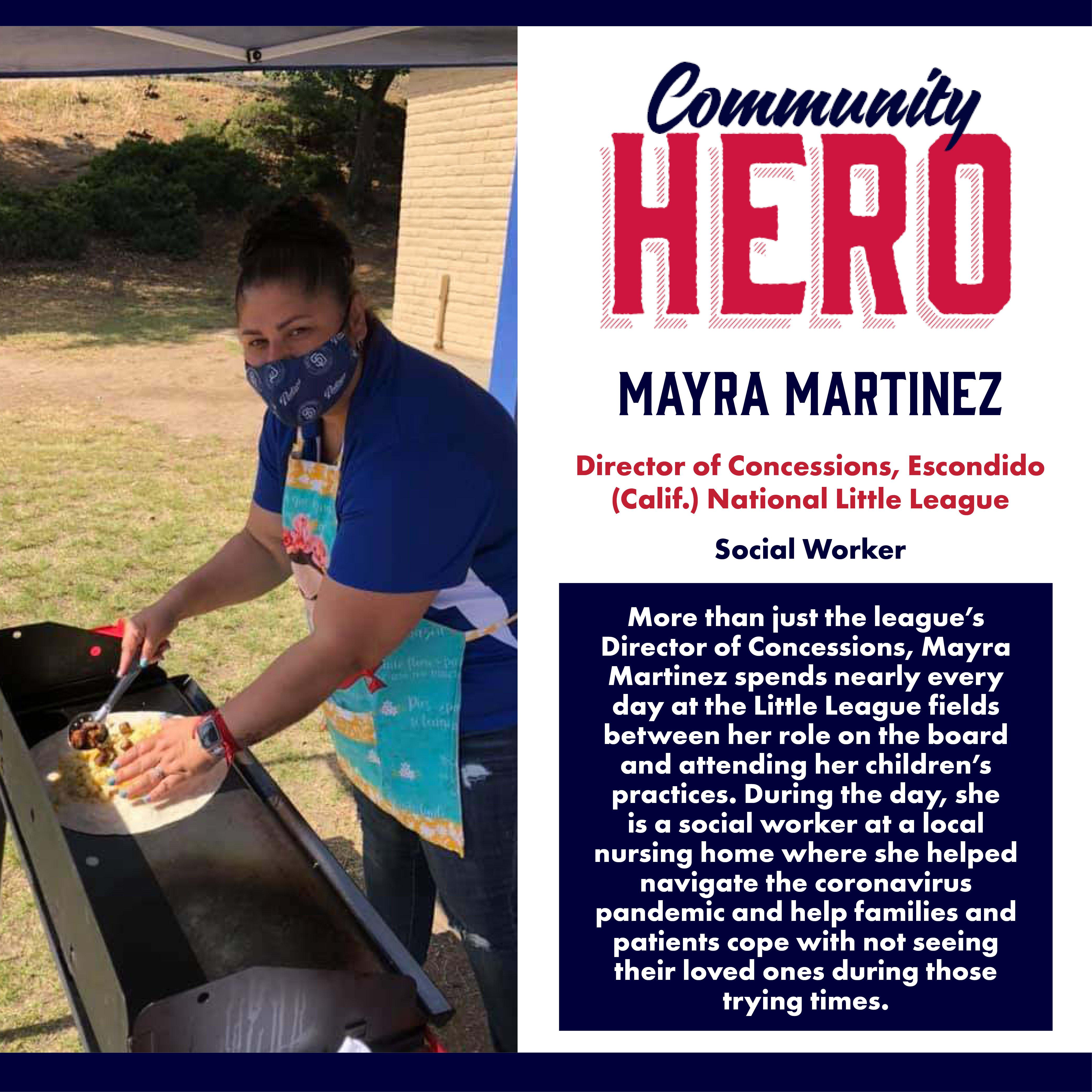 Mayra Martinez Community Hero