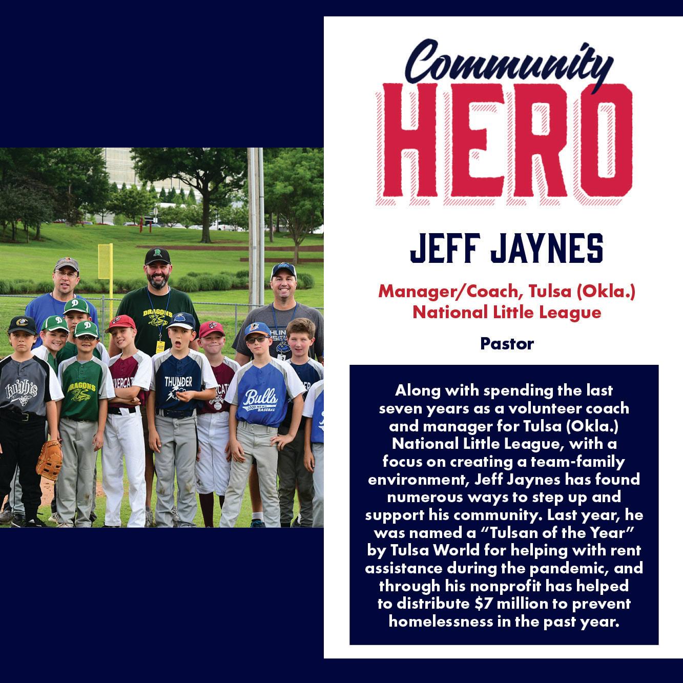 Jeff Jaynes Community Hero