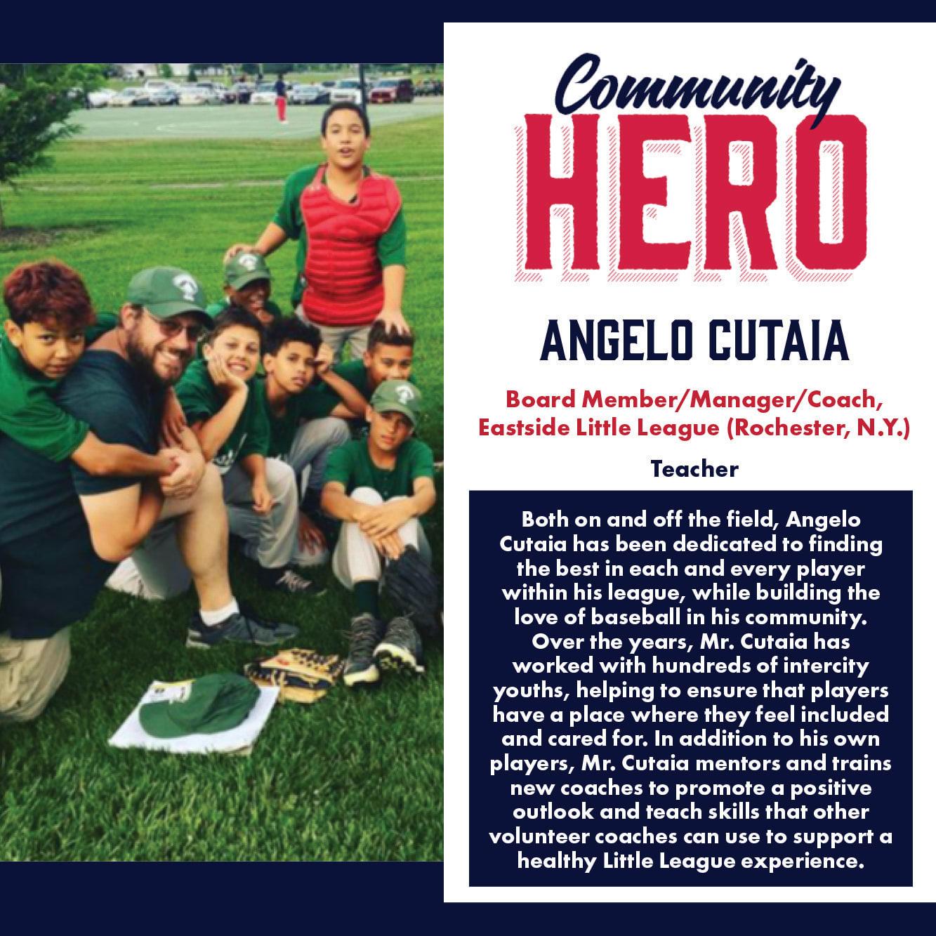 Angelo Cutaia Community Hero