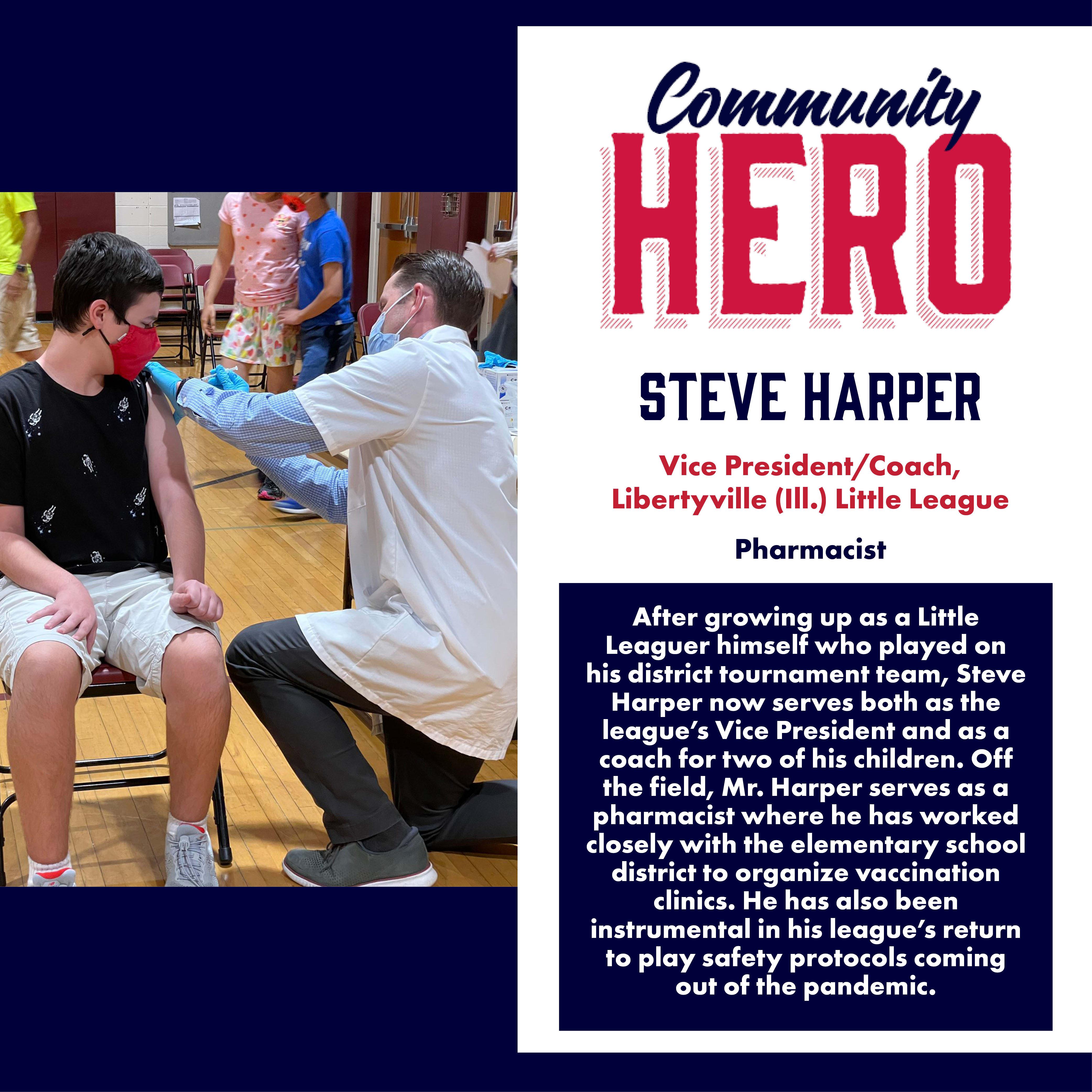 Steve Harper Community Hero